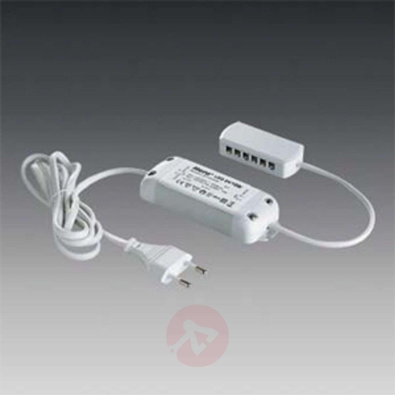LED transformer 1-15W DC 24V, 12-way distributor-4514211-01