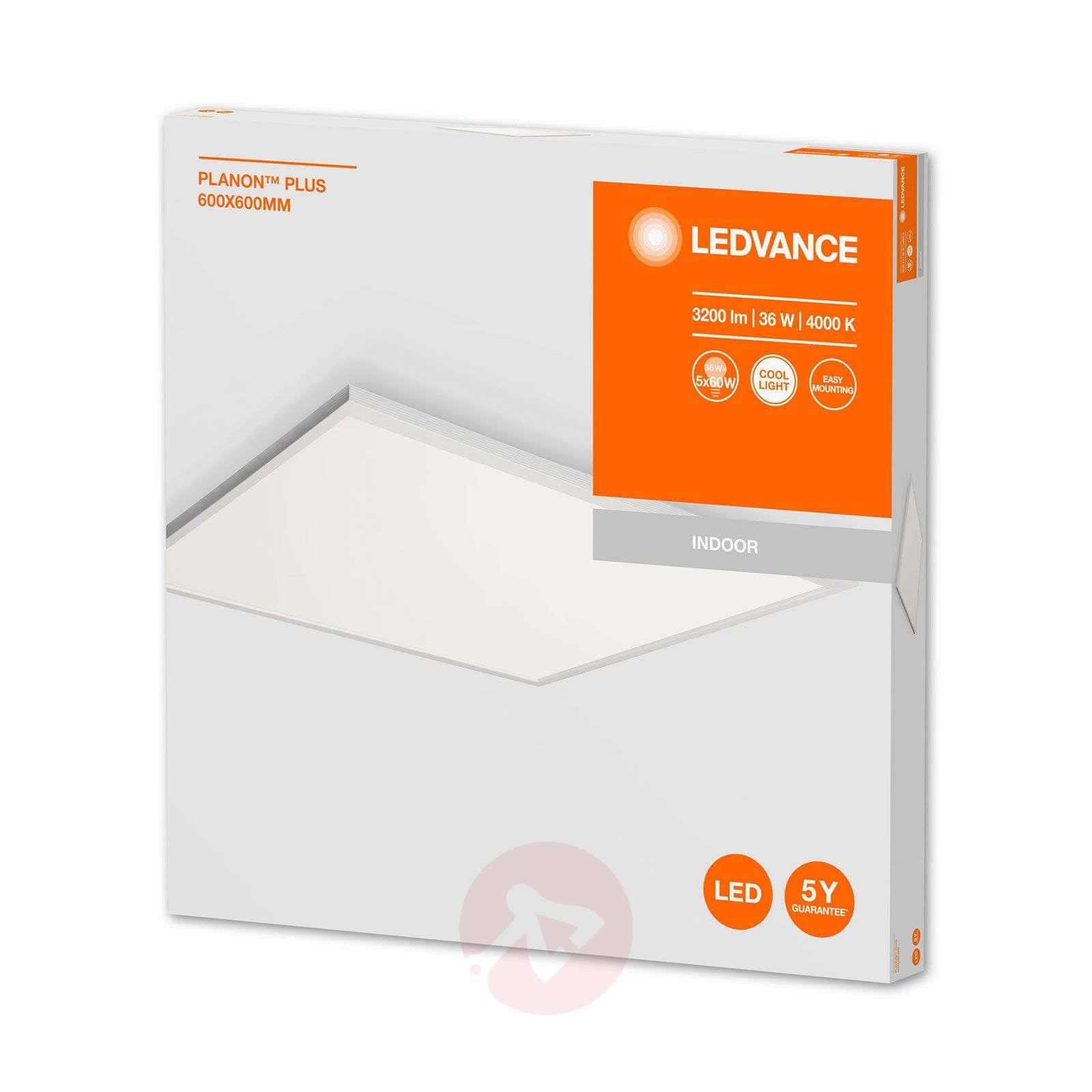 LEDVANCE Planon Plus LED panel 60cm 840 36W-6106023-01