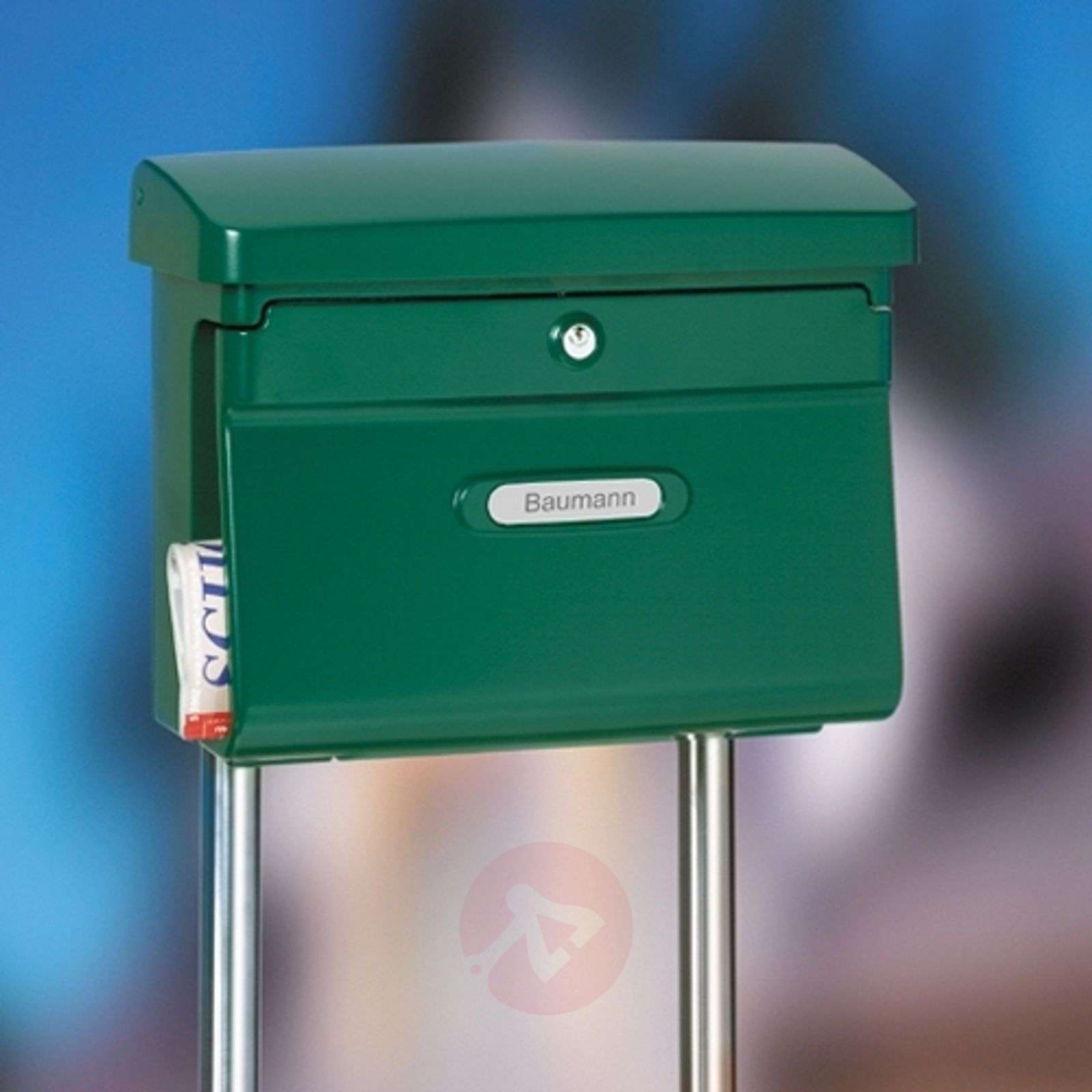 Letter box stand Universal 150, stainless steel-1532121-01