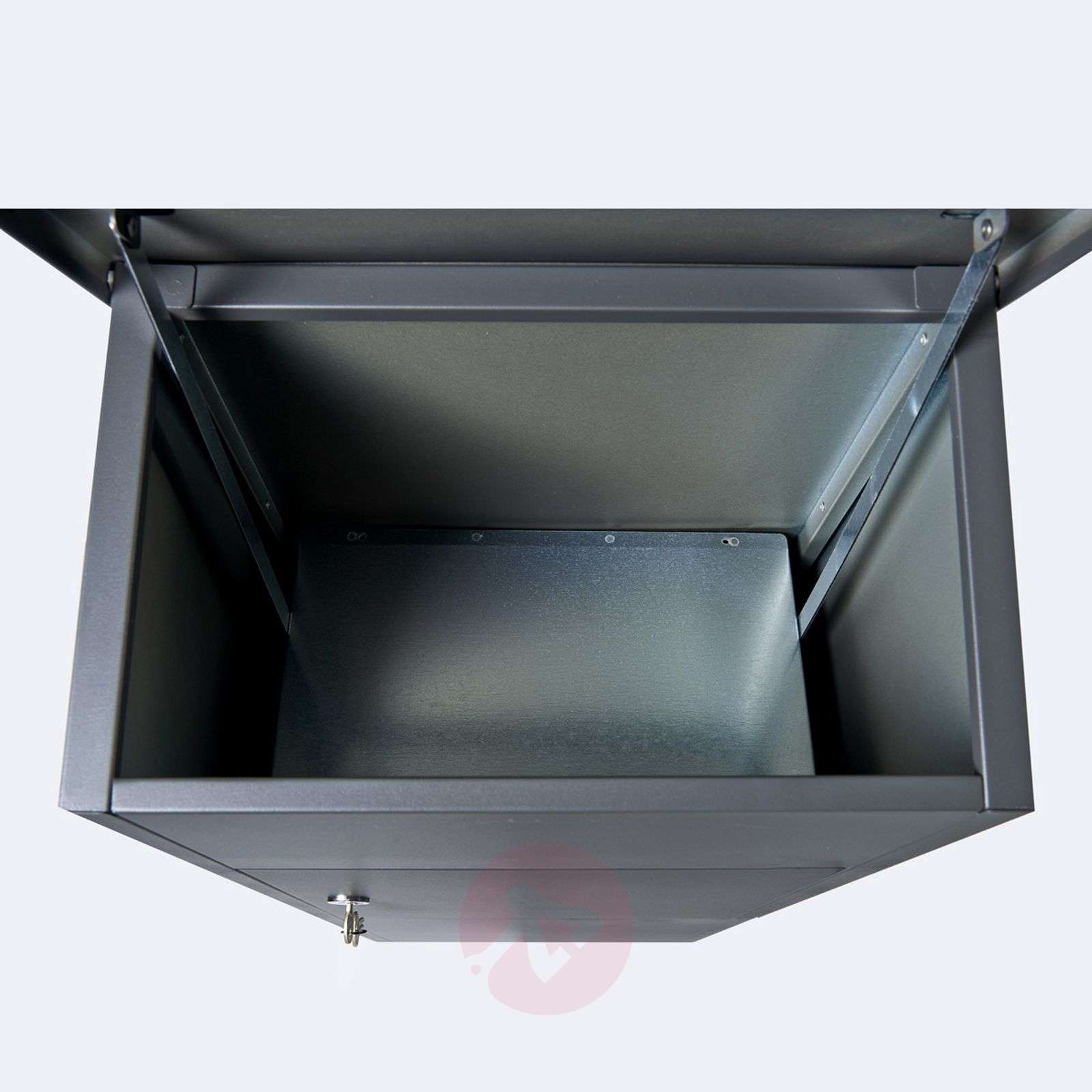 Letter/parcel box 600 with Ruko lock, anthracite-1045225-01