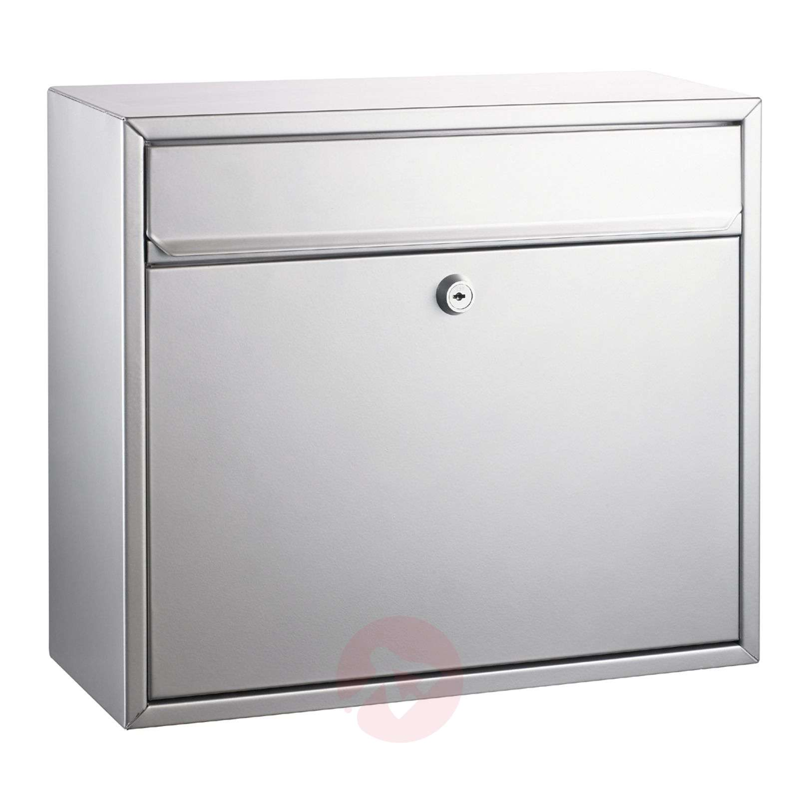 Letterbox mount silver painted-1003093-01