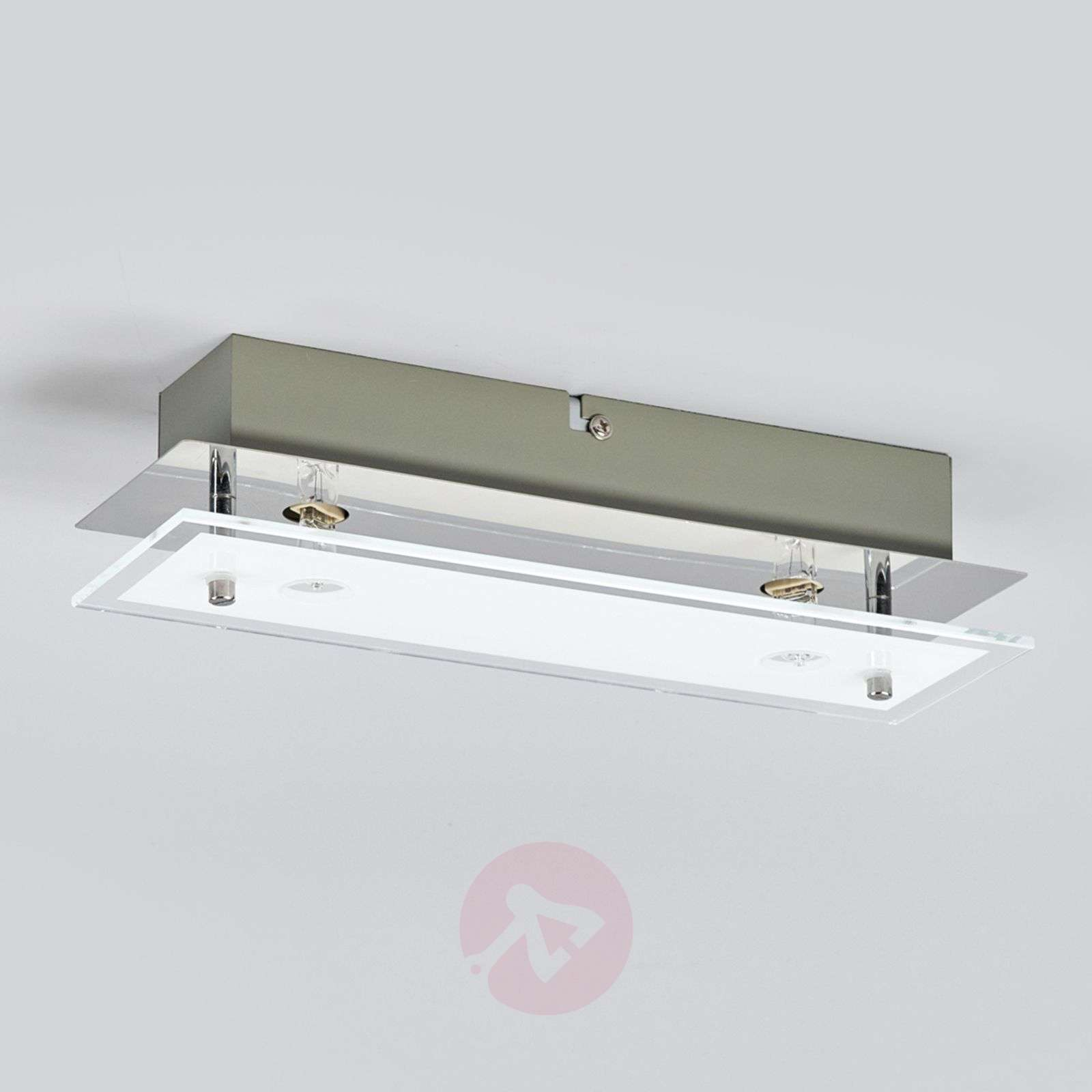 Levy glass LED ceiling lamp with G9 lamps-9994087-02