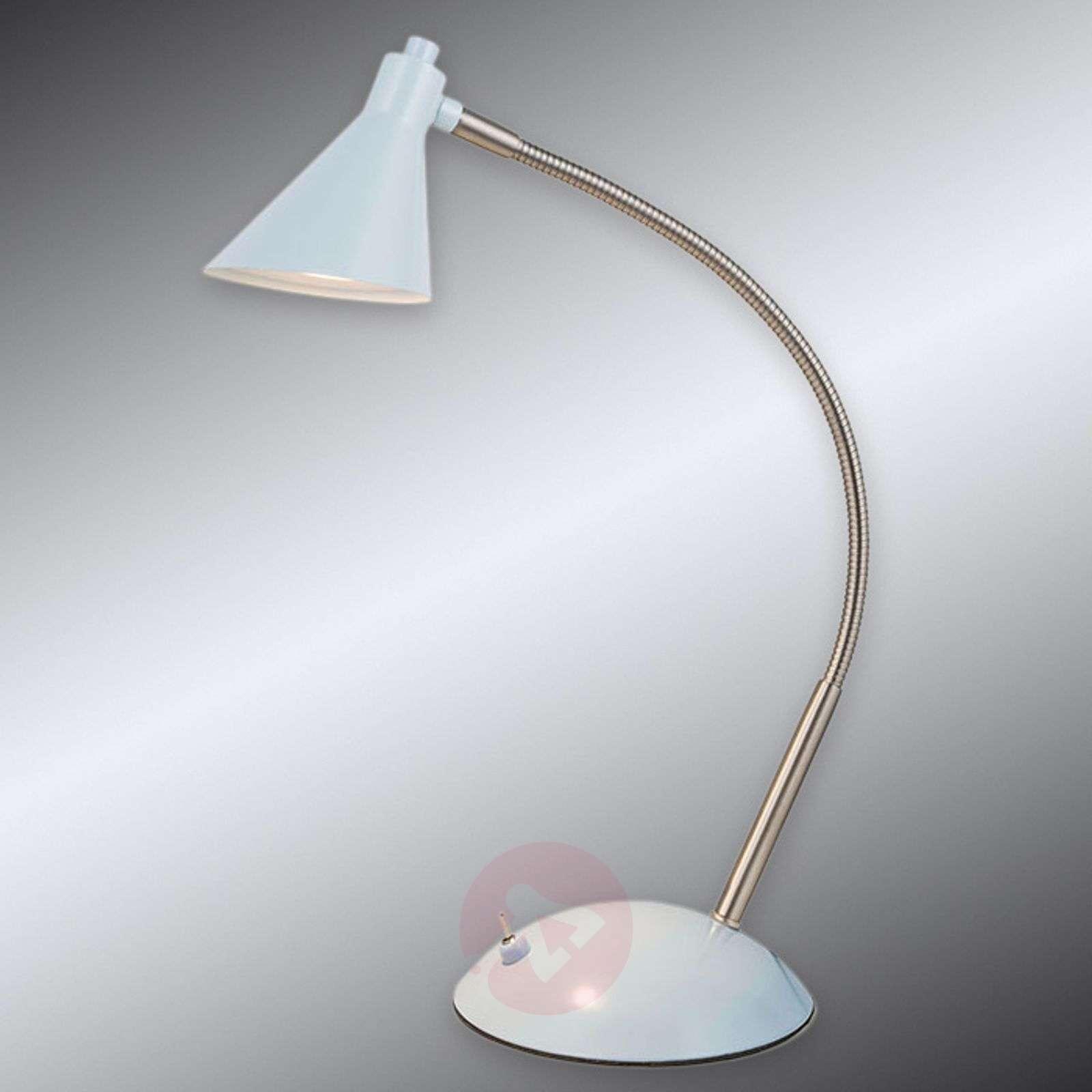 Light Blue Led Desk Lamp Milou 7000790 01
