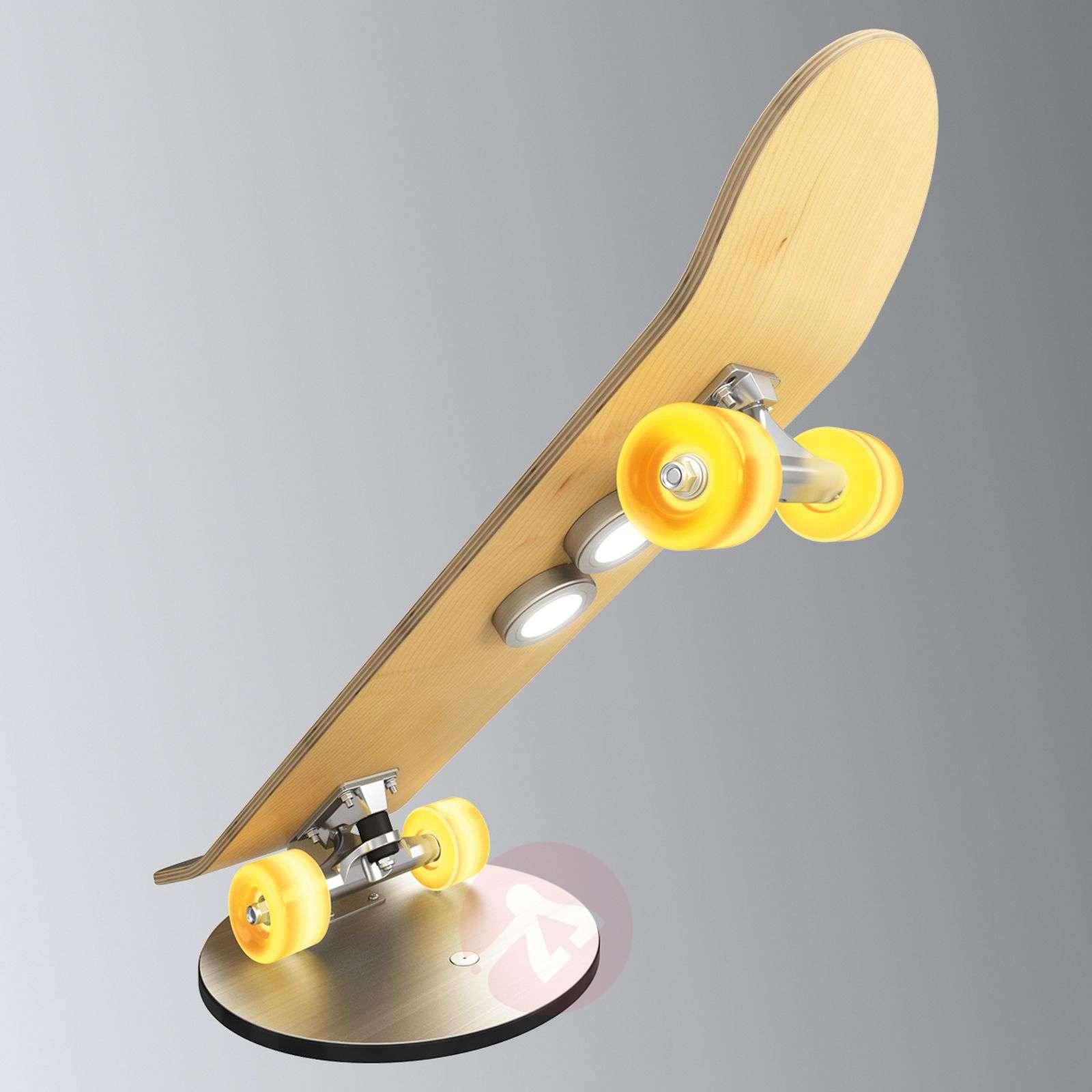 Light Cruiser skateboard table lamp with LEDs-3025312-01