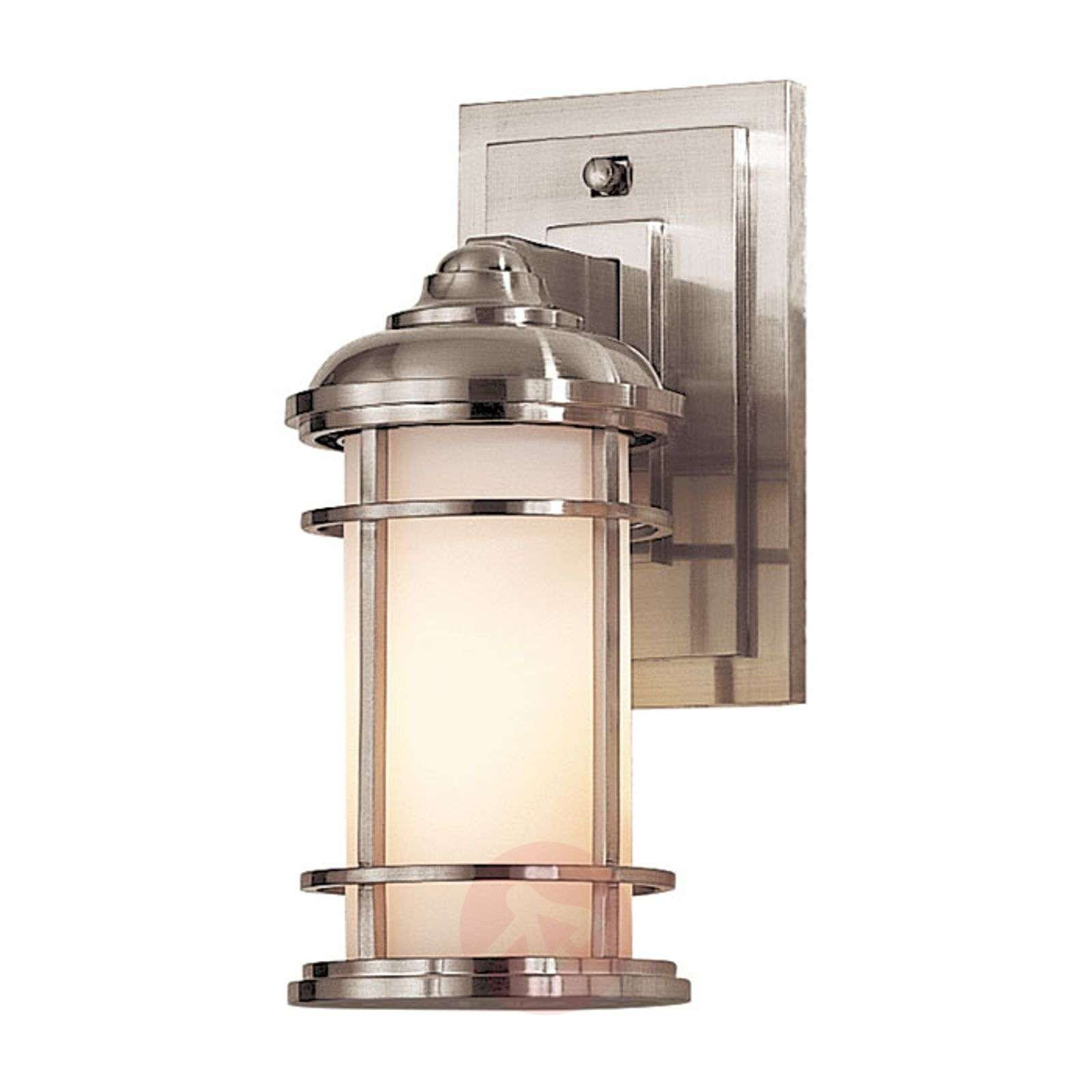 Lighthouse outdoor wall lamp, brushed steel-3048881-01