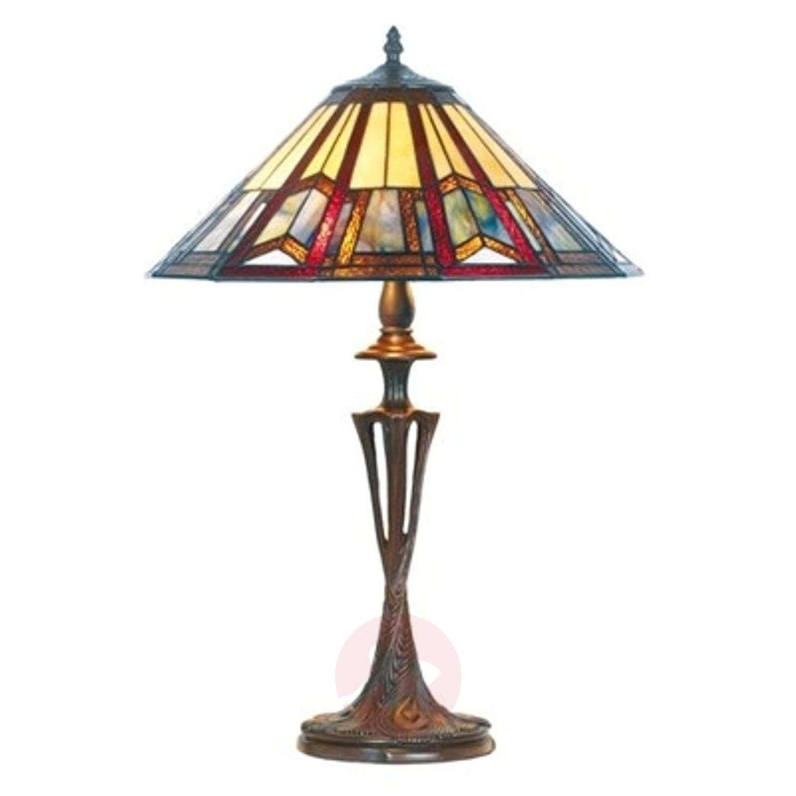 LILLIE elegant Tiffany-style table lamp-1032185-01