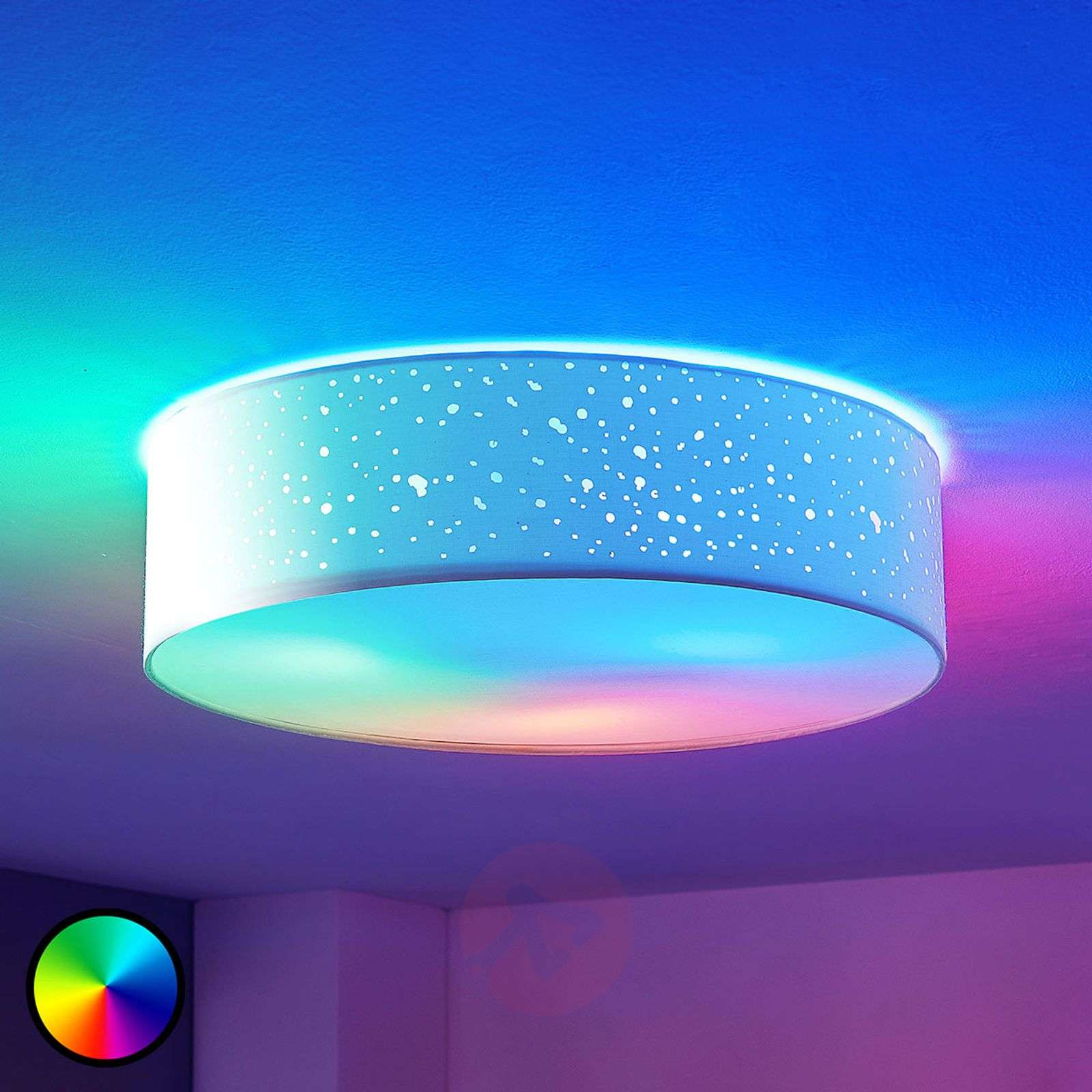 Lindby Smart Led Ceiling Lamp Alwine Direct Lights Ie