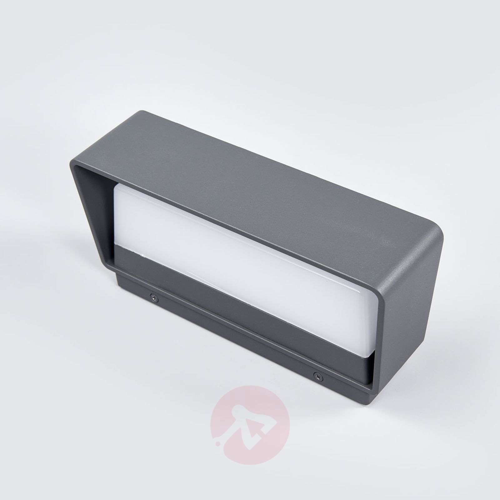 Logan simple LED wall lamp for outdoors, IP65-9617035-02