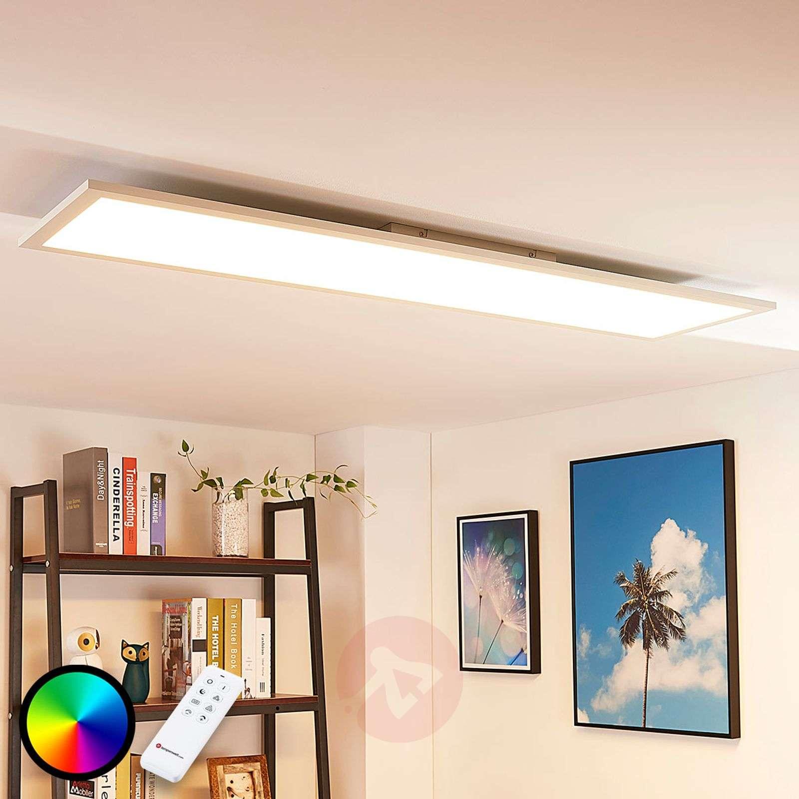 Long LED ceiling light Tinus, RGB and warm white_9621654_1