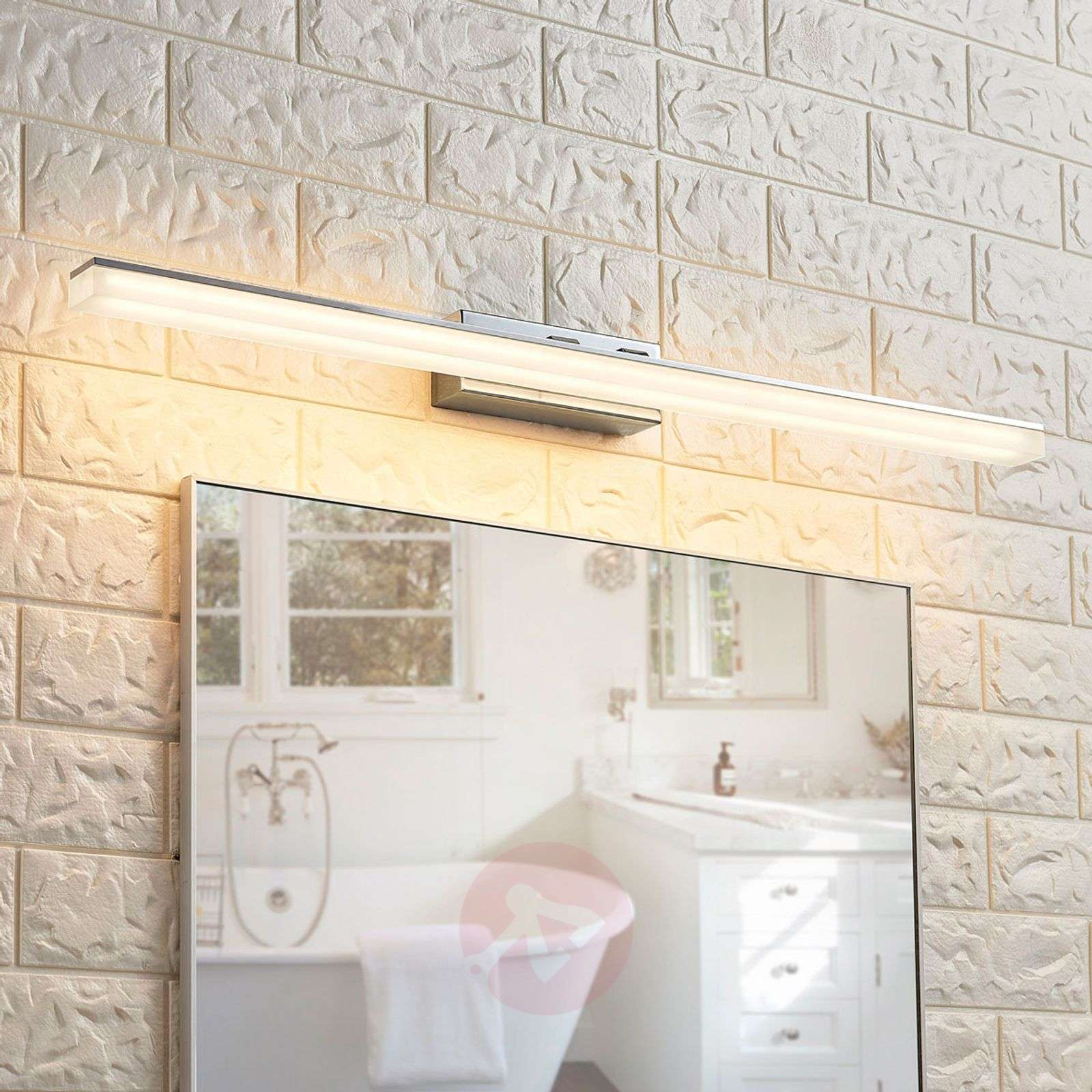 Long LED mirror light Julie, IP44-9621184-02