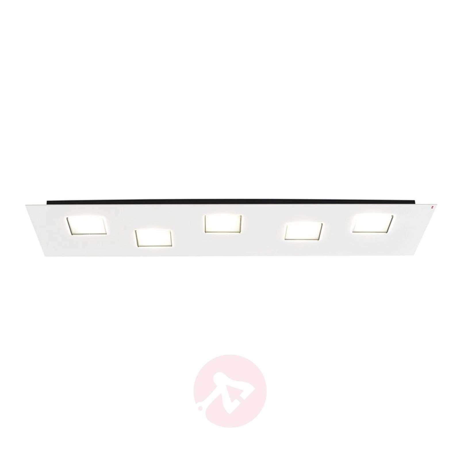 Long Quarter LED ceiling lamp in white-3503240-01