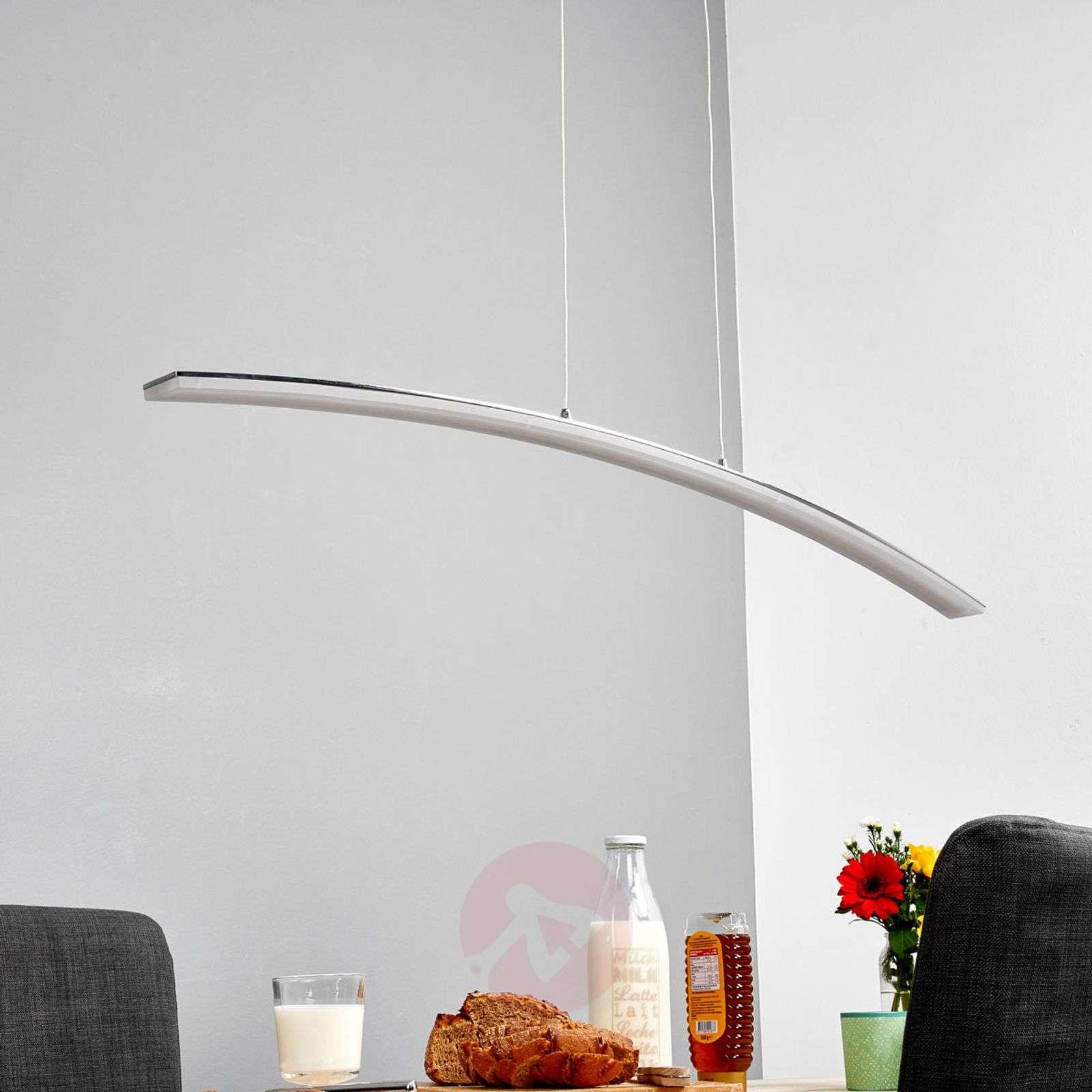 Lorian curved LED pendant light-9984008-01