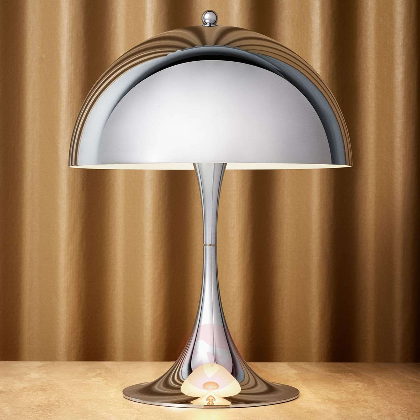 Louis Poulsen Panthella Mini LED table lamp chrome-6090151-01