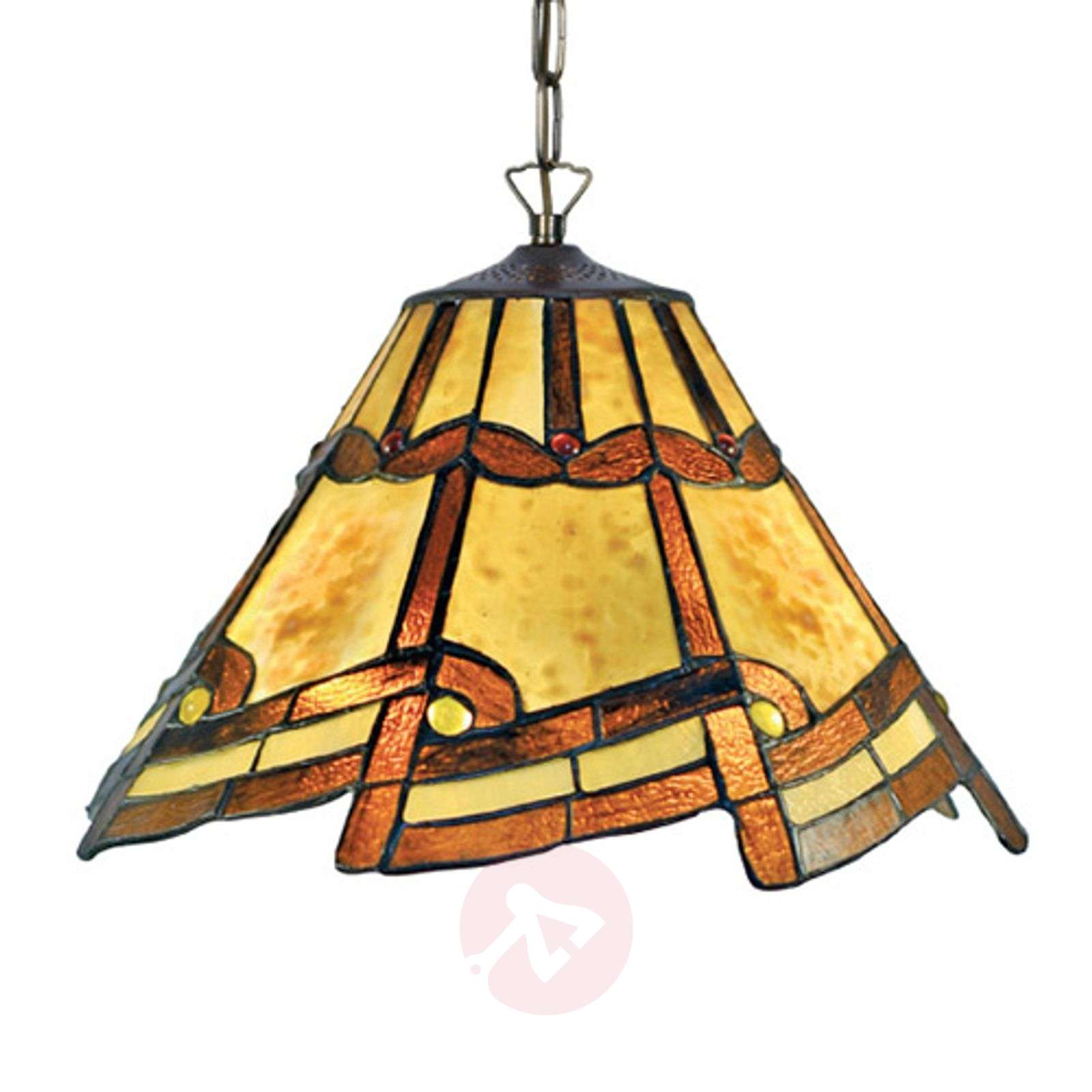 Lovely hanging light Parisa in the Tiffany style-1032317-01