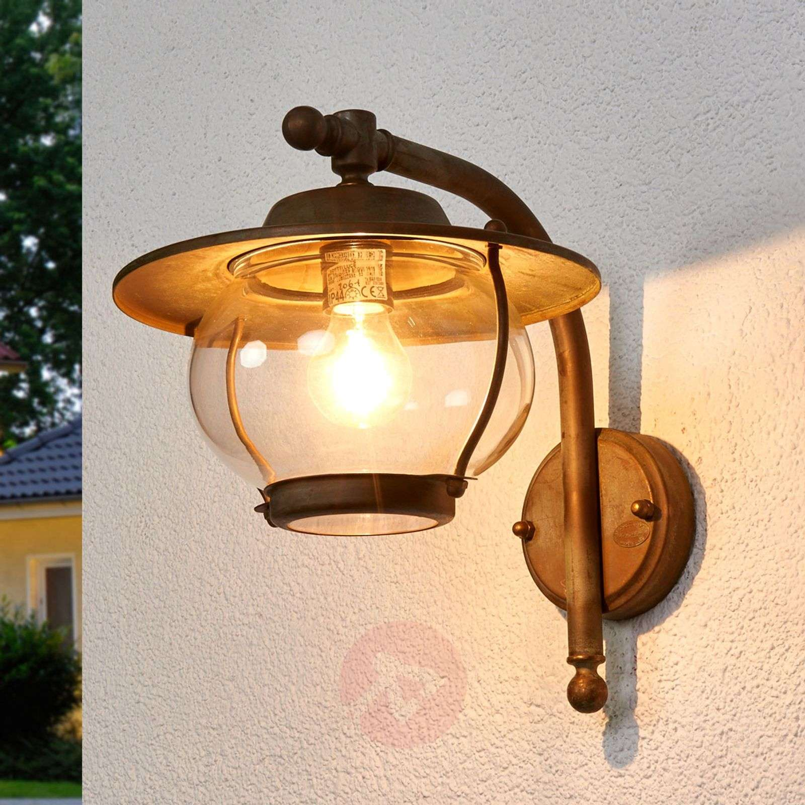 Lovely outdoor wall light Adessora seawater-res.-6515249-01
