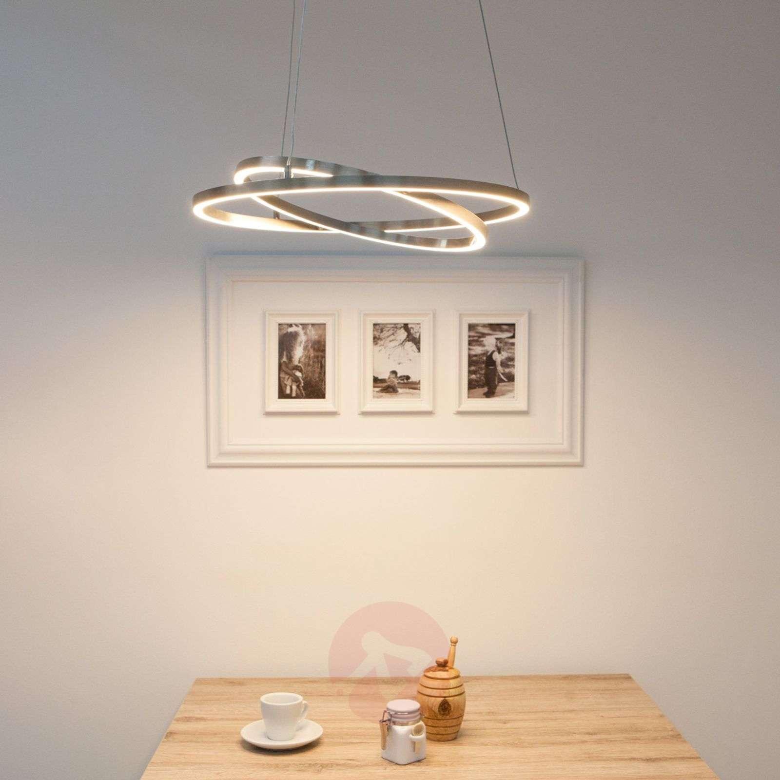 Lovisa LED hanging light with two LED rings-7620002-02
