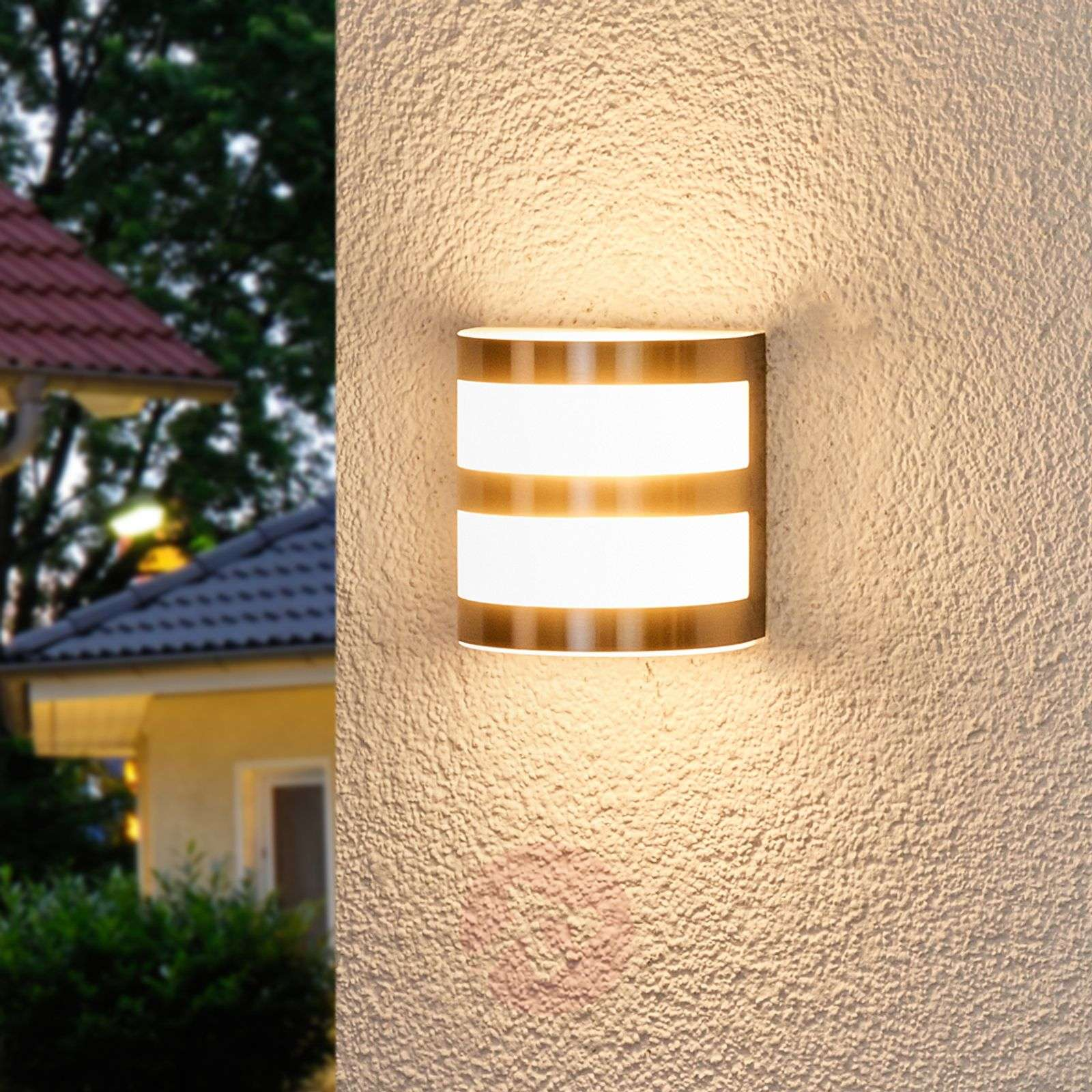 Lucja LED outdoor wall light with stripes-9972039-010