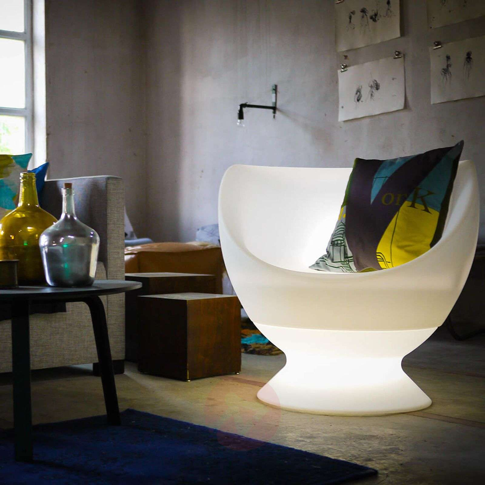 Luminous armchair Boons for outdoors-8590009-01