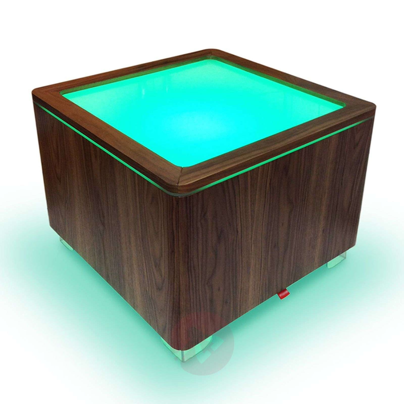 Luminous table Ora LED with a wooden body-6537092-05