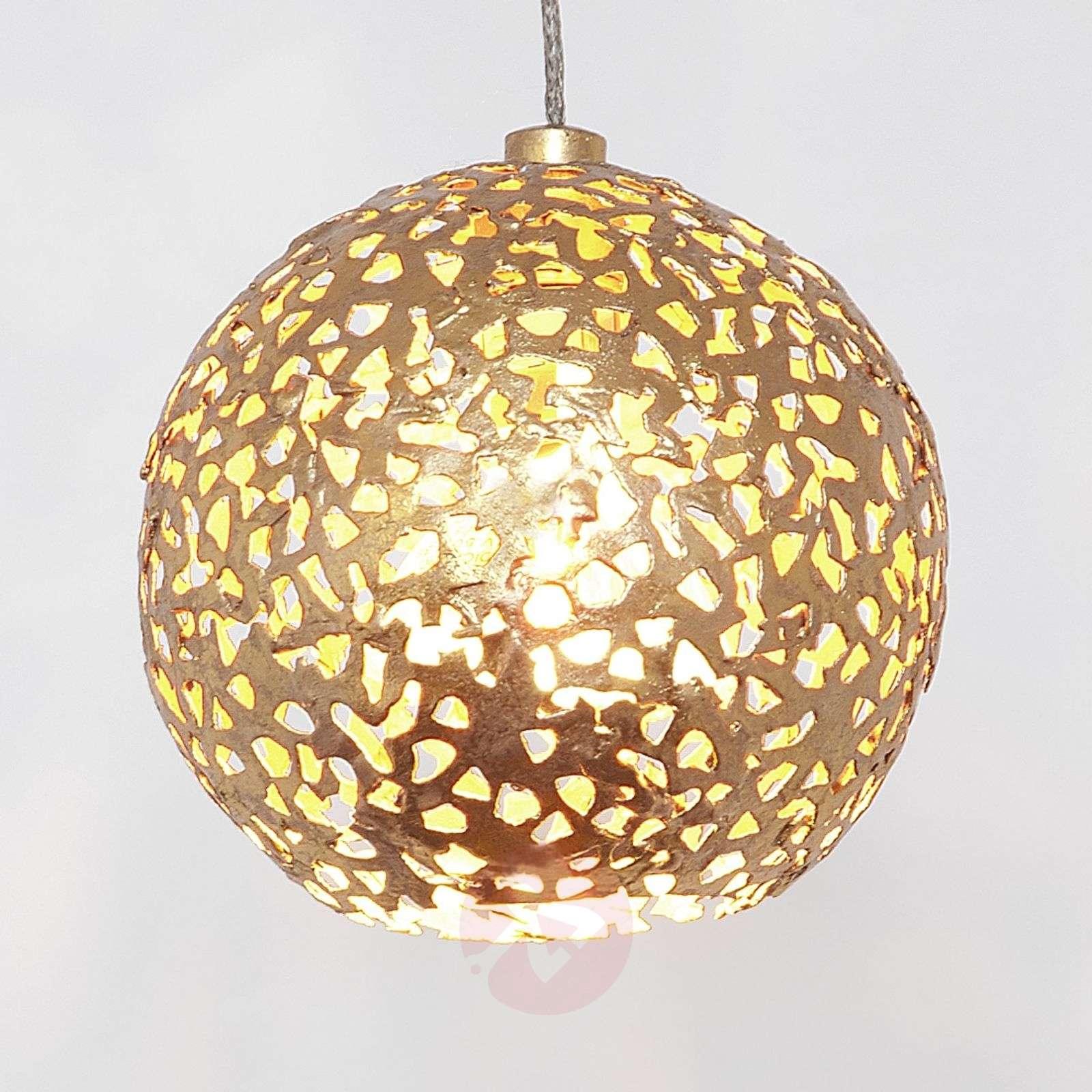 Lustrous pendant lamp Cappuccino-4512470-01