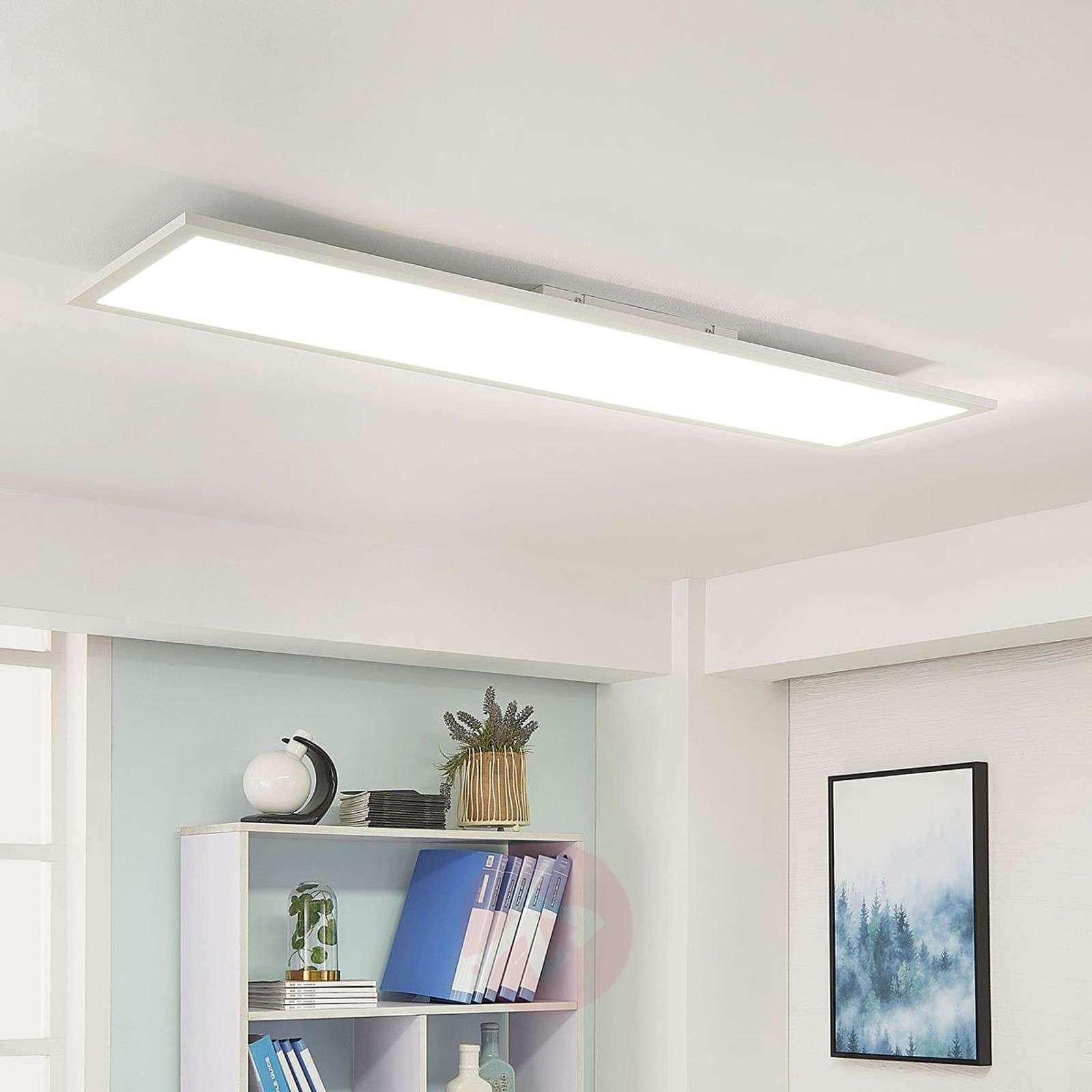 Lysander white LED ceiling light, dimmable-9621560-01