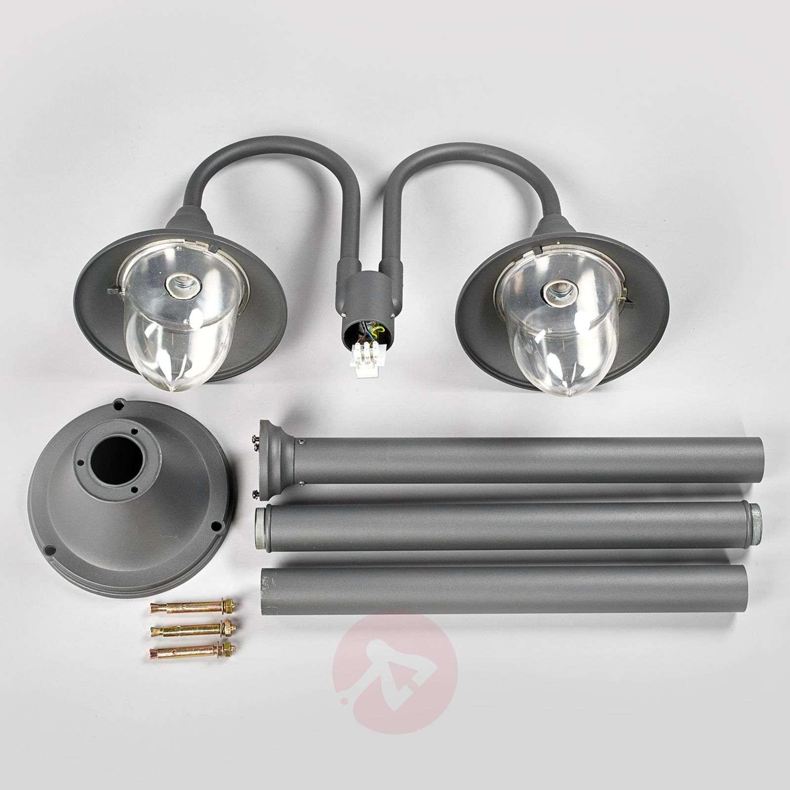 Madea two-bulb post light-9630067-01