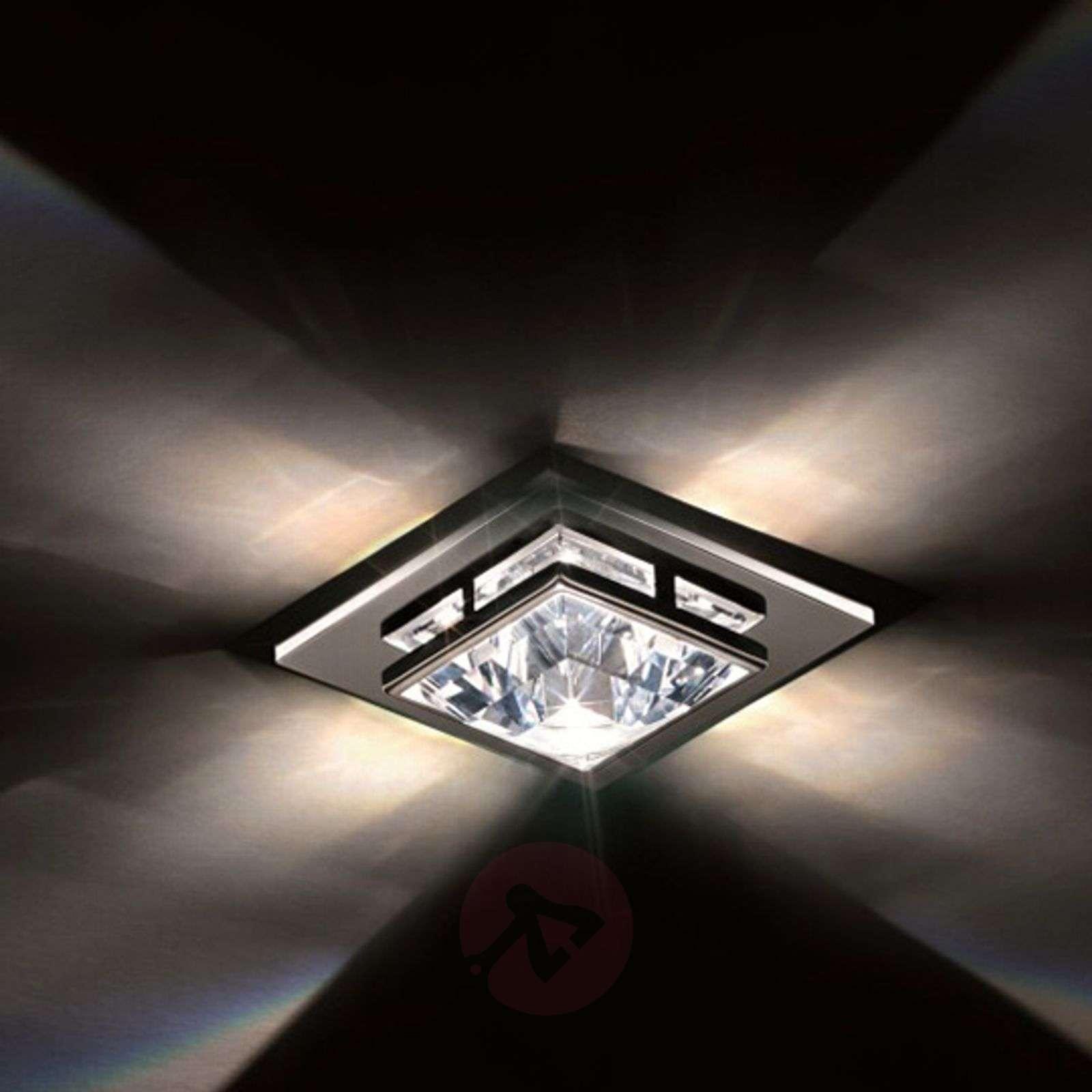Madison Recessed Ceiling Light W Swarovski Crystal