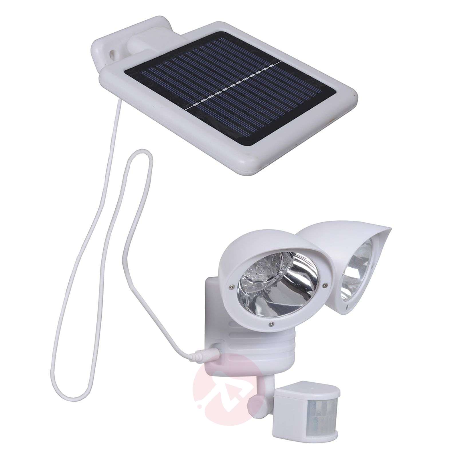 Maex sensor solar light for walls, two-bulb-4014992-01