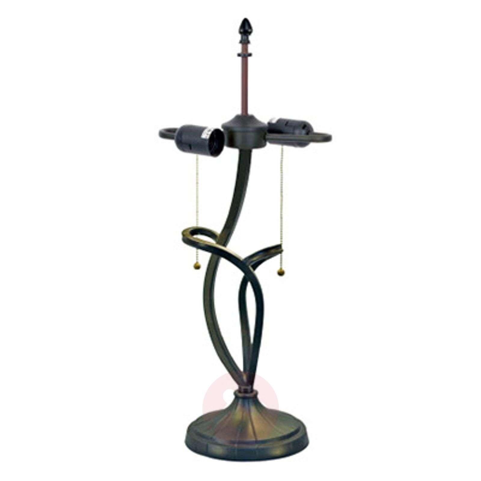 Magical table lamp Parisa, Tiffany style-1032320-01