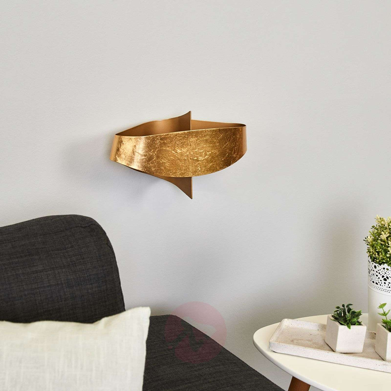 Magical wall lamp Mariano in gold-9625127-01