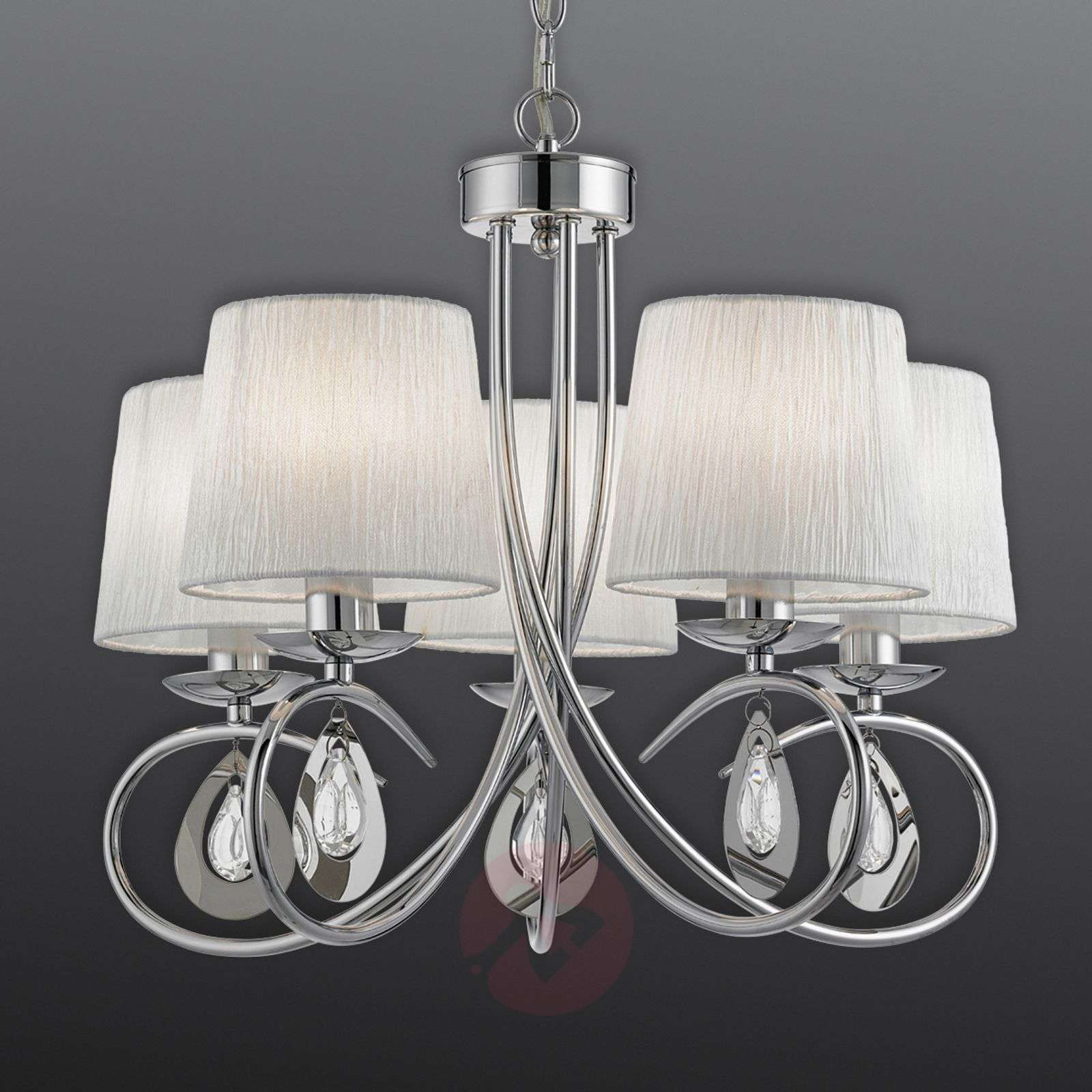 Magnificent Angelique hanging light with 5 bulbs-8570894-01