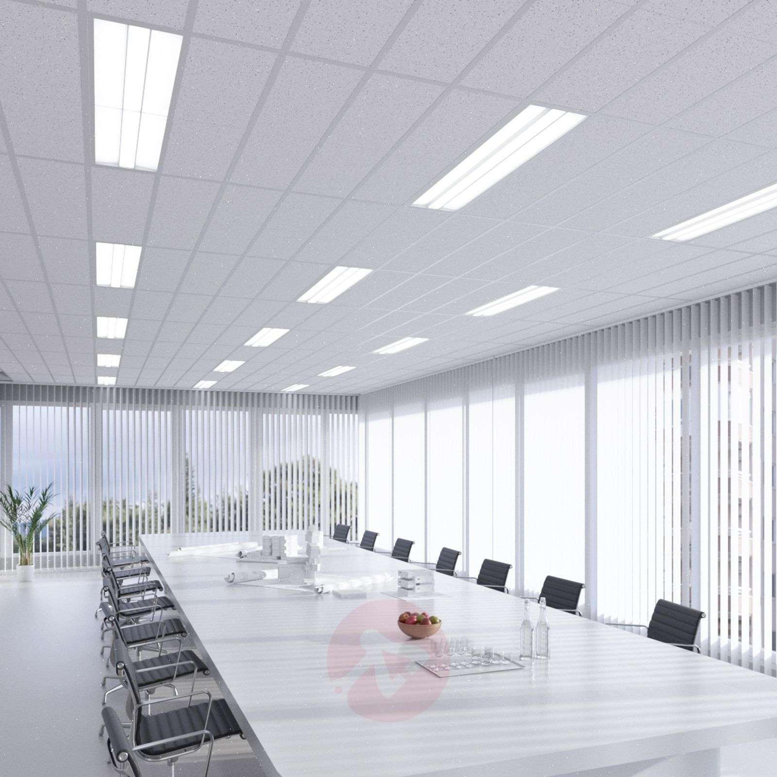 Malo LED panel for louvre ceilings, 30 cm x 120 cm-9978082-02