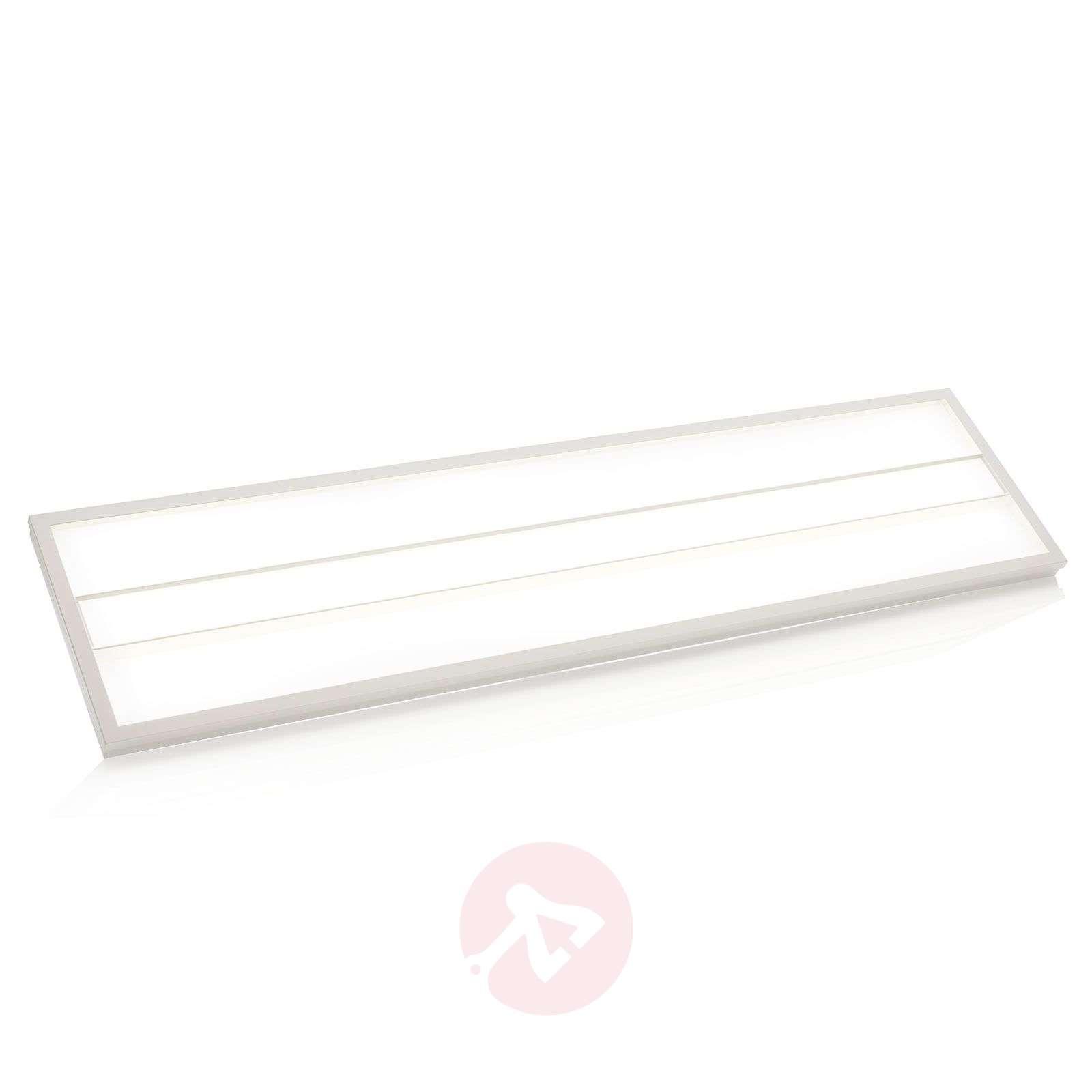 Malo LED panel for louvre ceilings, 30 cm x 120 cm-9978082-02