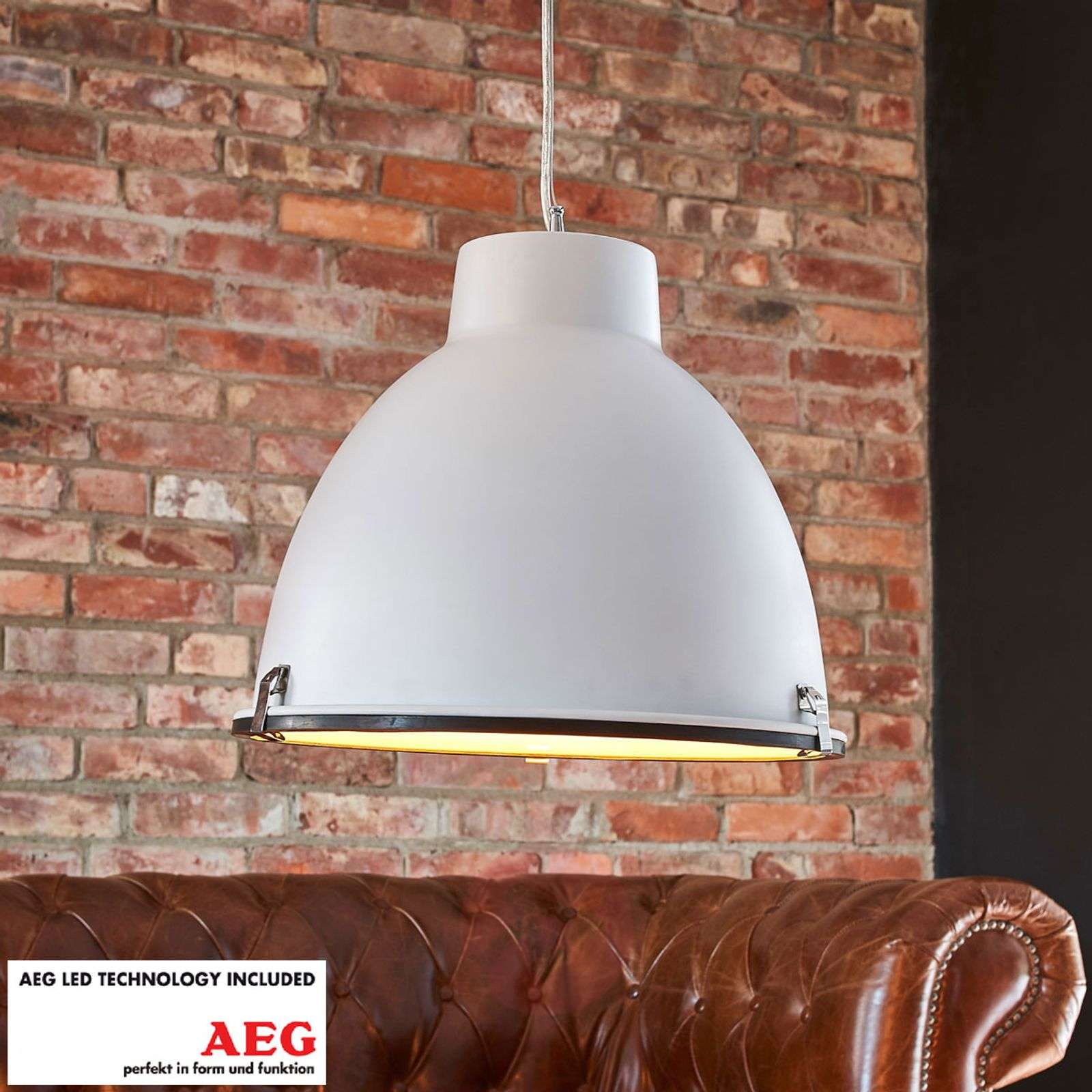 Mamoun white led pendant lamp with glass diffuser lights mamoun white led pendant lamp with glass diffuser 1558064 02 aloadofball Choice Image