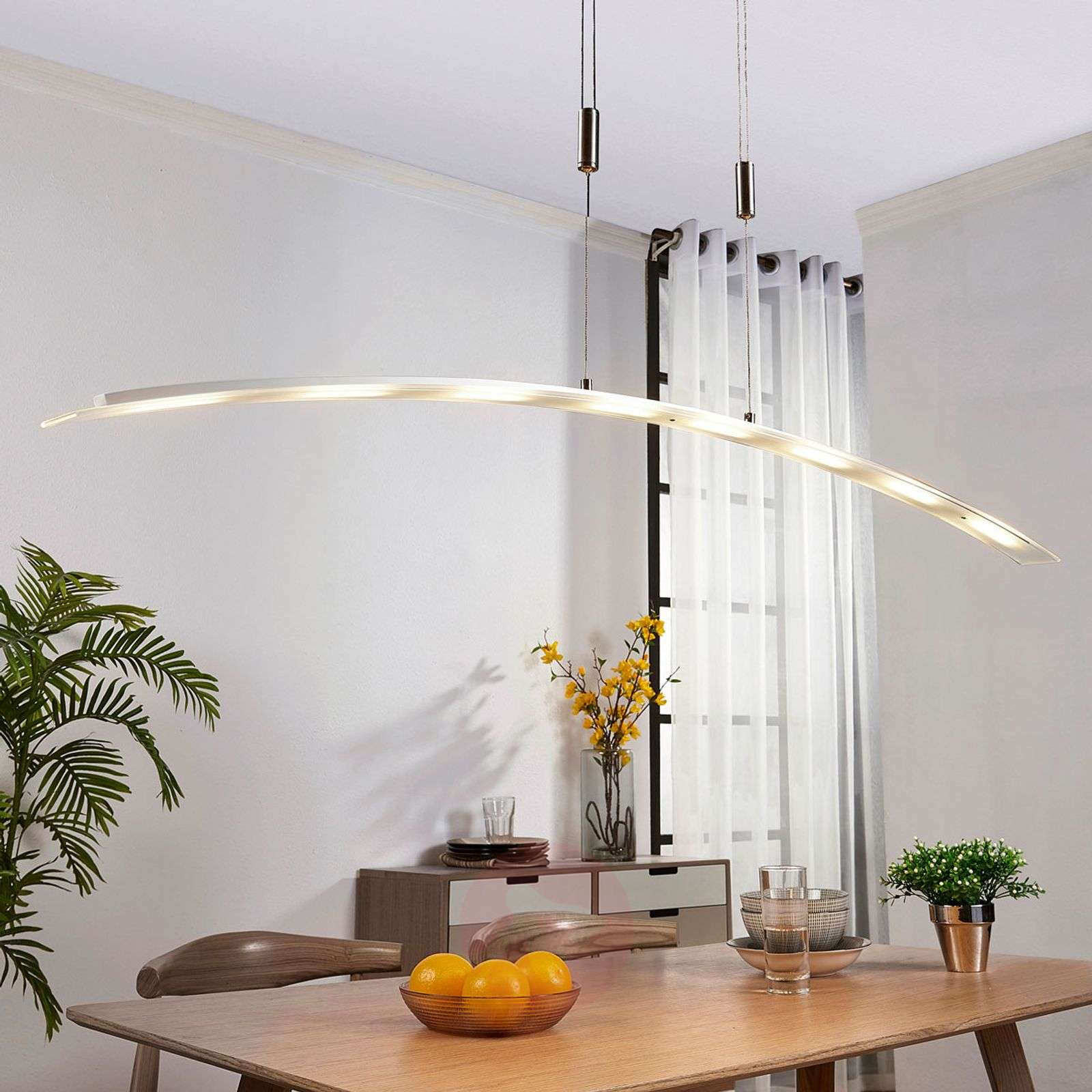 Manon height-adjustable LED pendant lamp-9621081-01