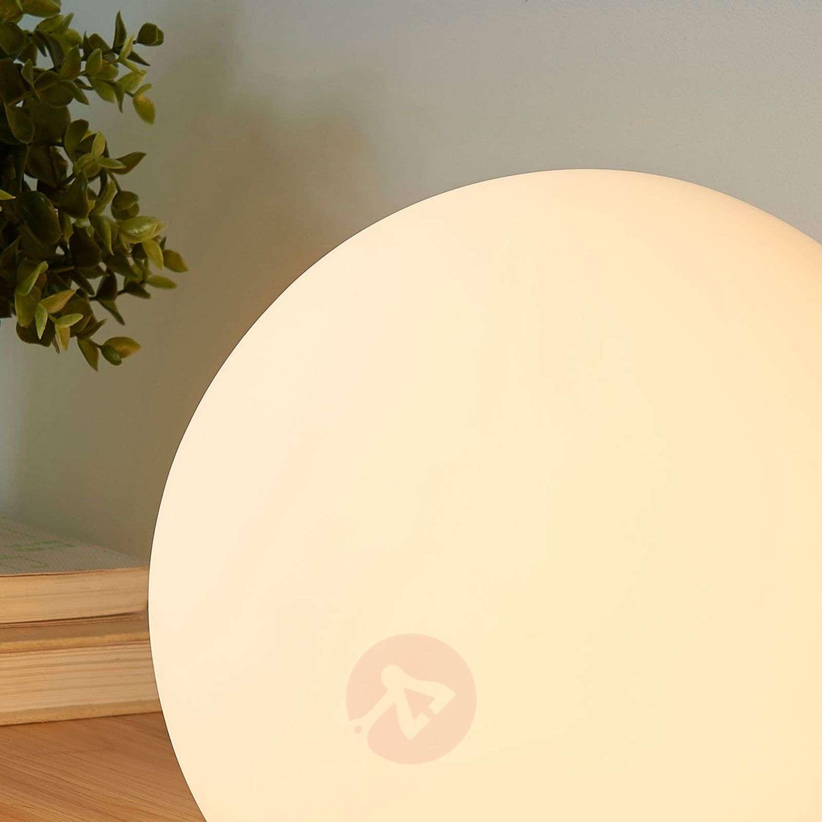 Marike spherical glass table lamp, white-9621456-01