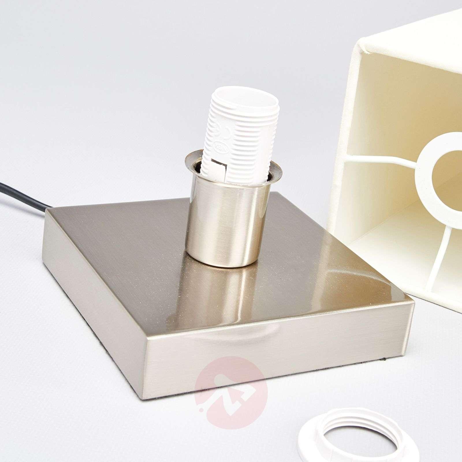 Martje white table light with E14 LED lamp-9620067-01