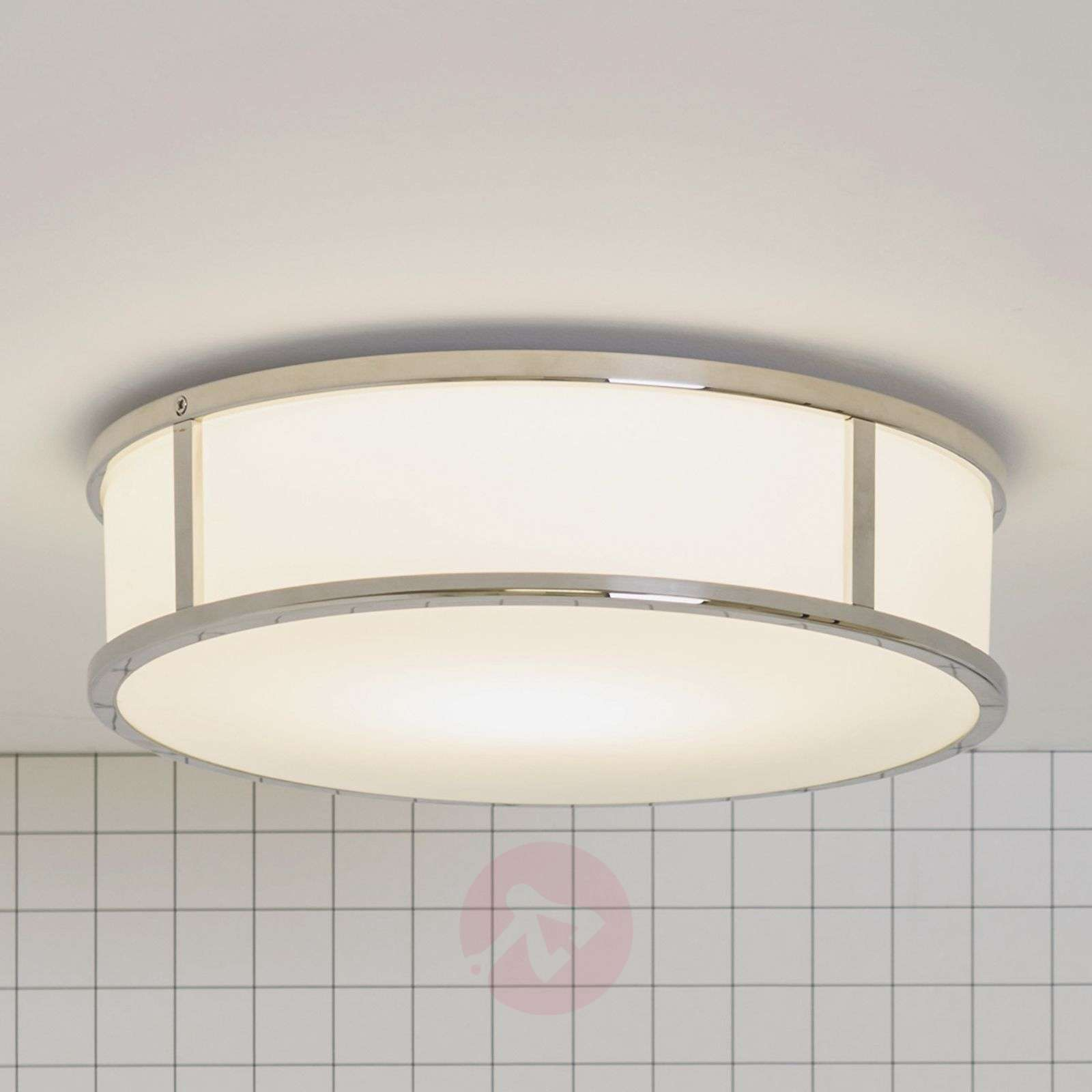 Mashiko Round Bathroom Ceiling Light Lightsie - Bathroom celing