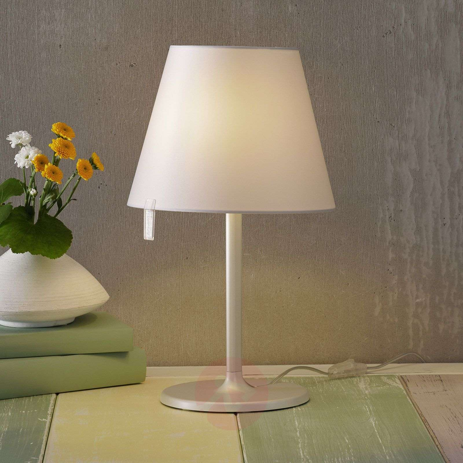 Melampo notte bedside light, grey-1060037-01