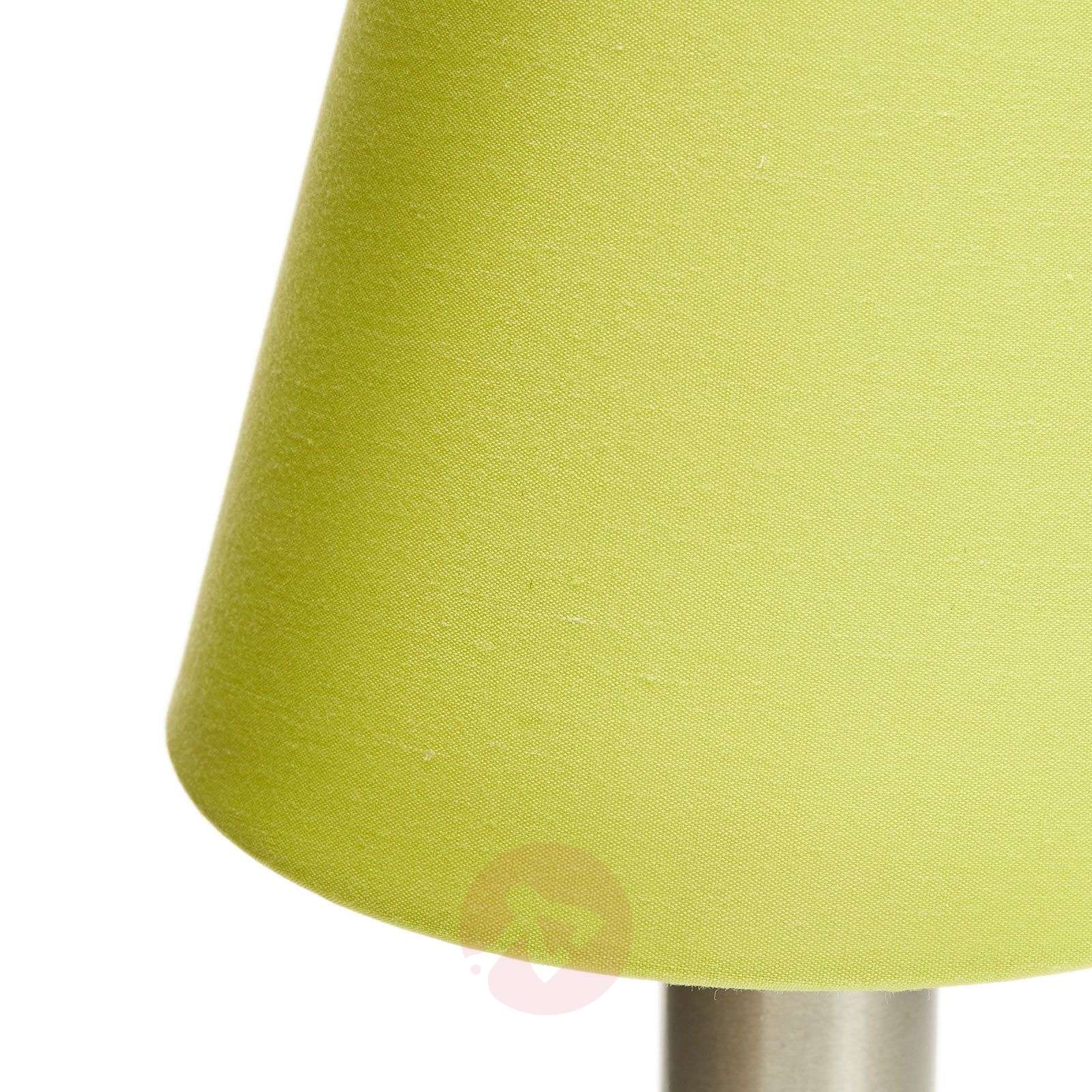 Merete table lamp with touch switch, green-9004611-02