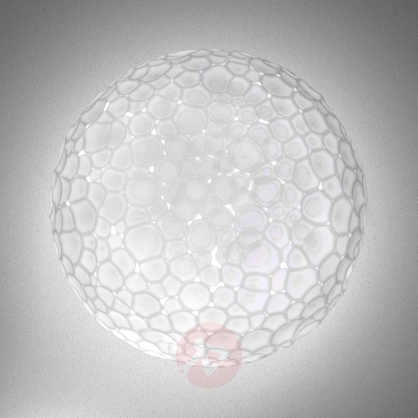 Meteorite glass wall light, 35 cm-1060039-01