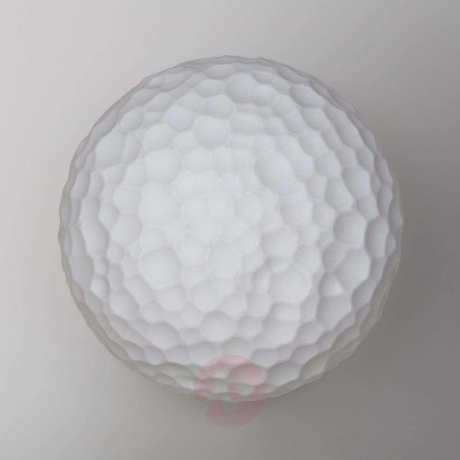 Meteorite glass wall light, 35 cm-1060039-01