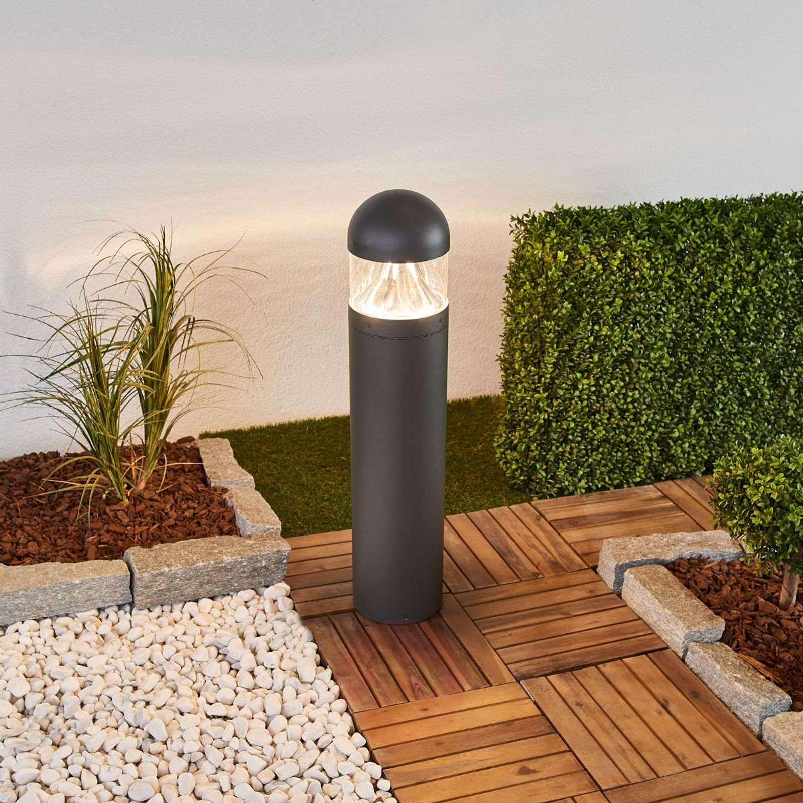 Meva round, bright LED path lamp
