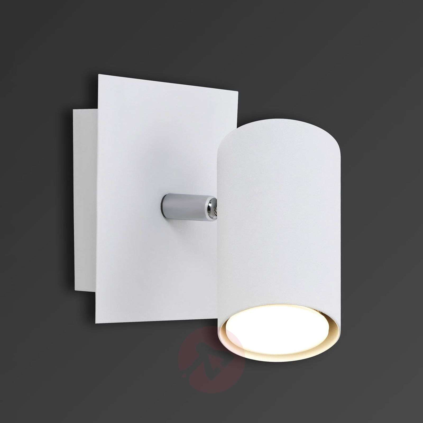 Mia single-bulb halogen wall spotlight-9005044-01