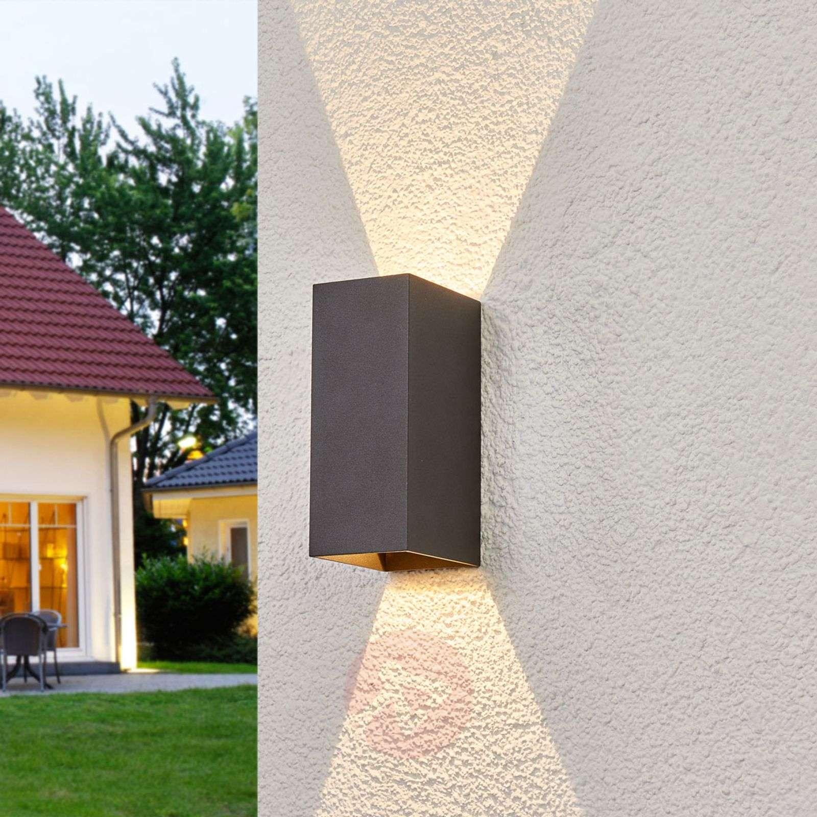 Mikka 2-bulb LED outdoor wall light-9969032-02