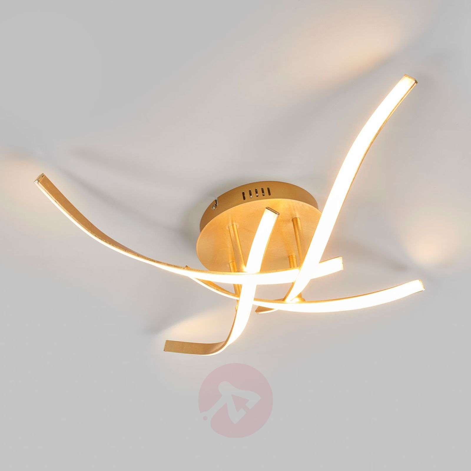 Milane dimmable LED ceiling light, golden-9985060-02