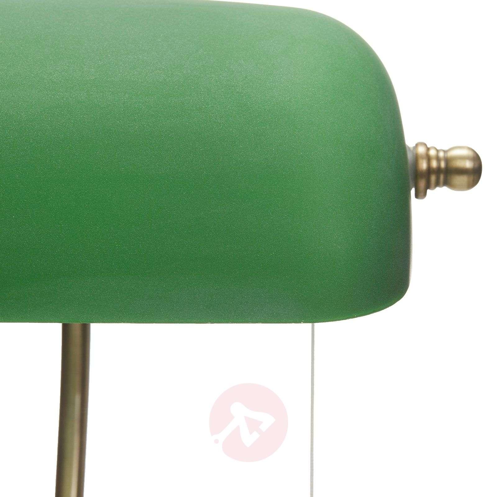 Milenka desk lamp with green lampshade-9620986-03