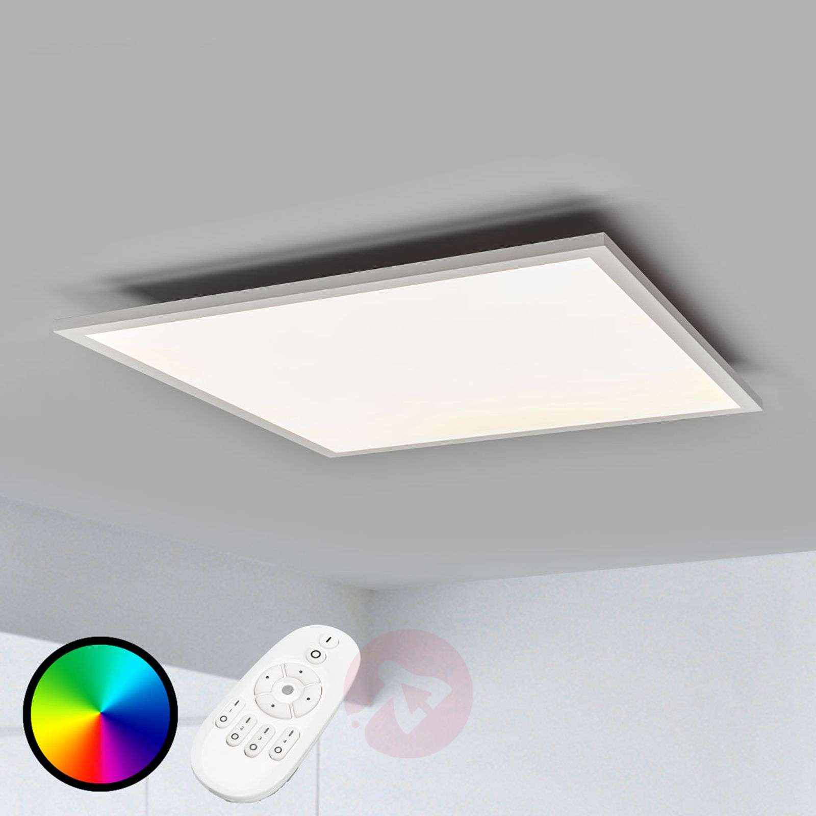 Milian RGB-LED panel with remote control, 62 cm-7620029-02