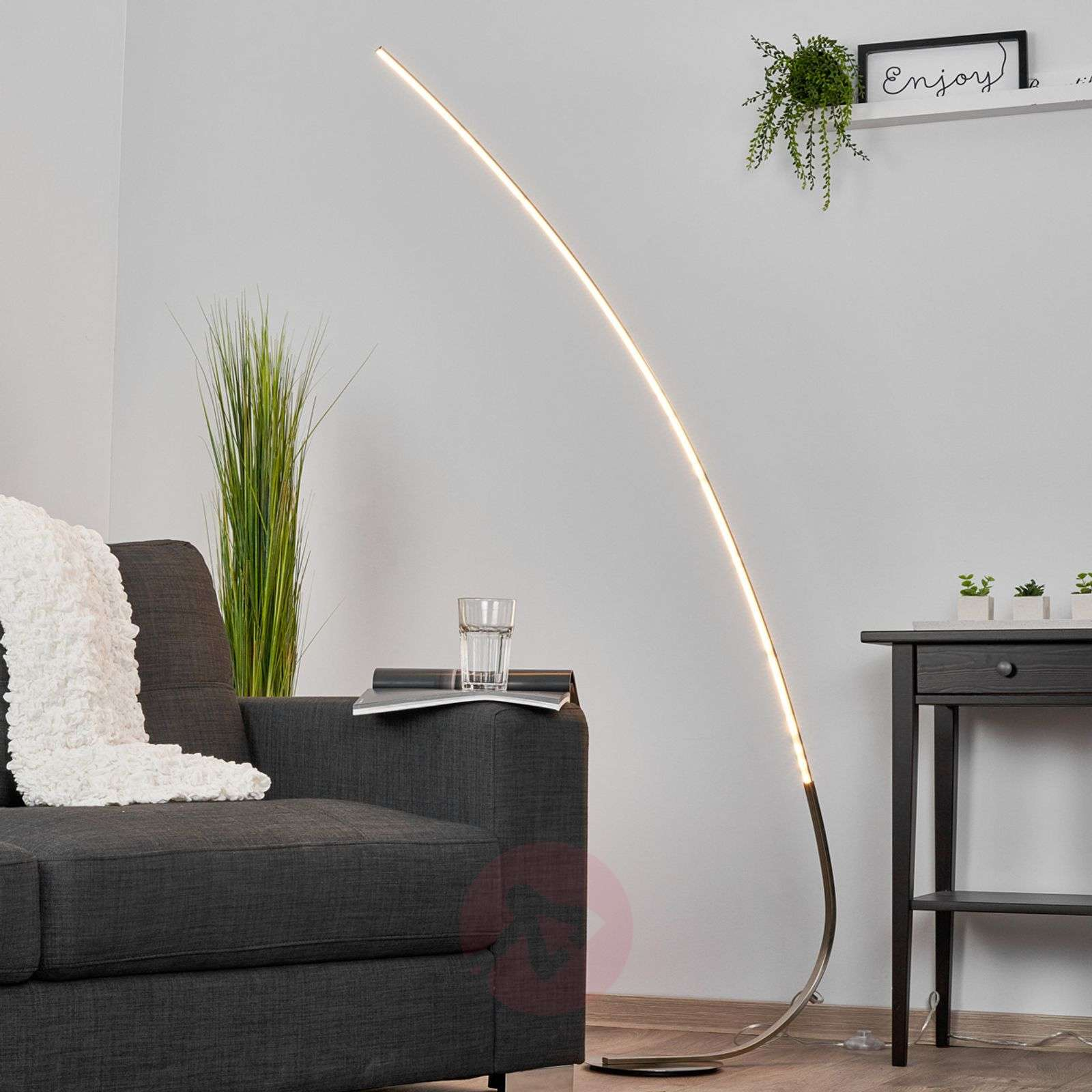 Minimalistic LED floor lamp Madeleine-9985035-01