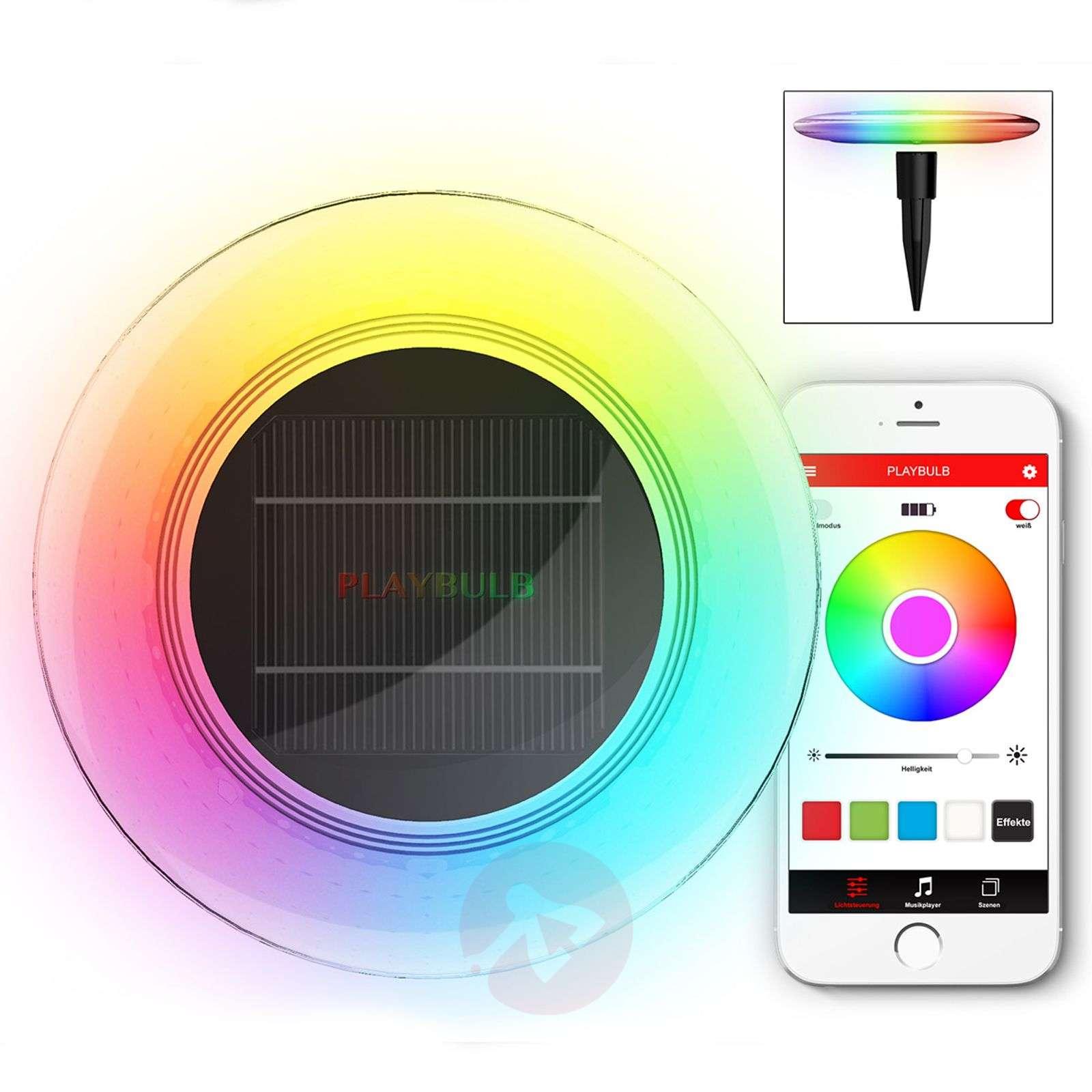 MiPow Playbulb Solar LED decorative light set of 3-5543021-01